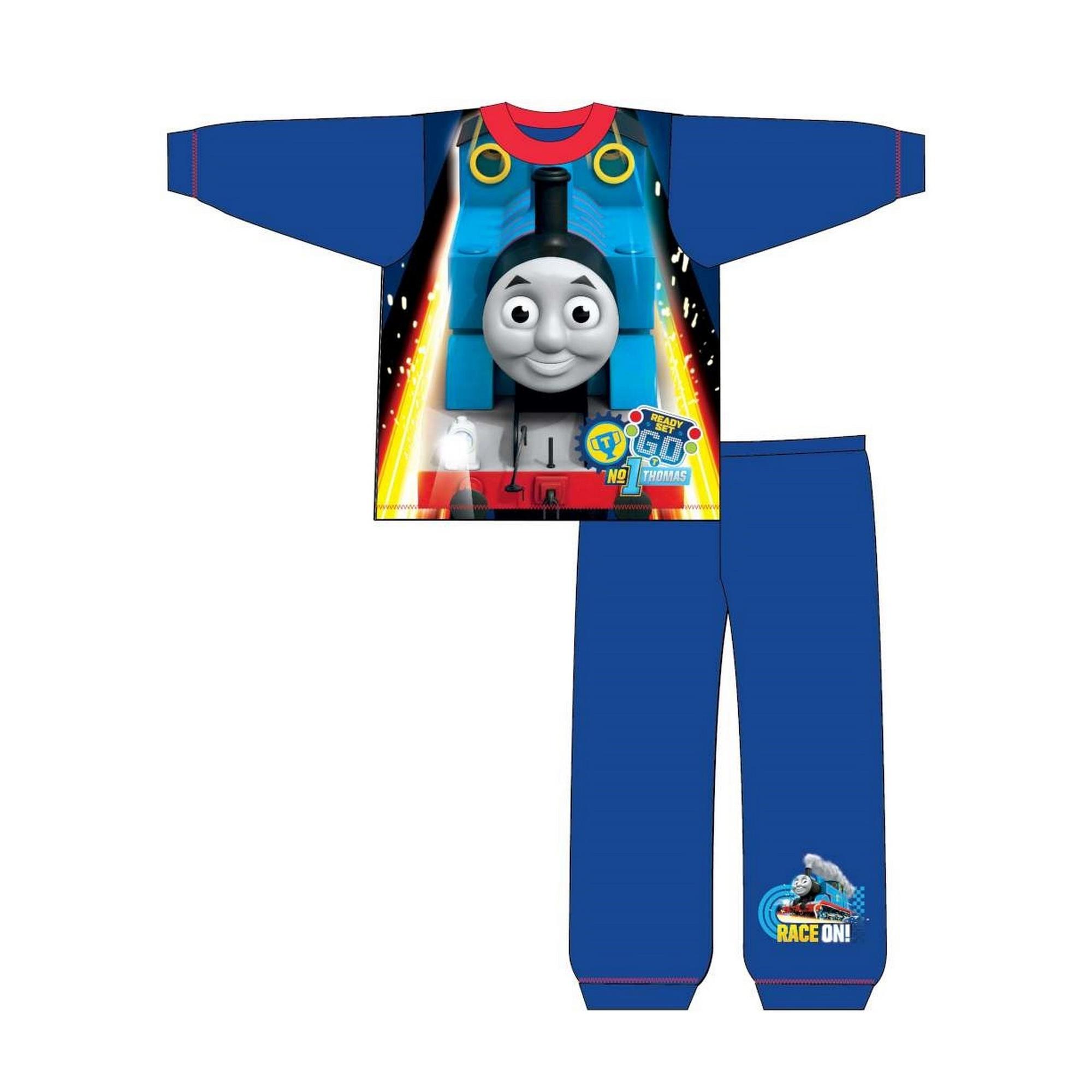 Thomas-The-Tank-Engine-Pijama-infantil-de-manga-larga-de-Thomas-y-sus-amigos