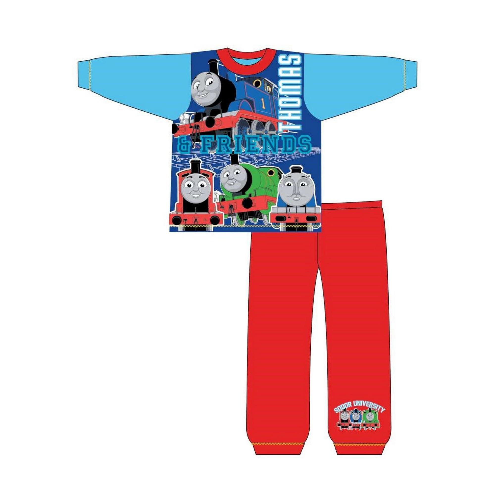 Thomas-The-Tank-Engine-Pijama-de-manga-larga-infantil-de-Thomas-y-sus-TF530