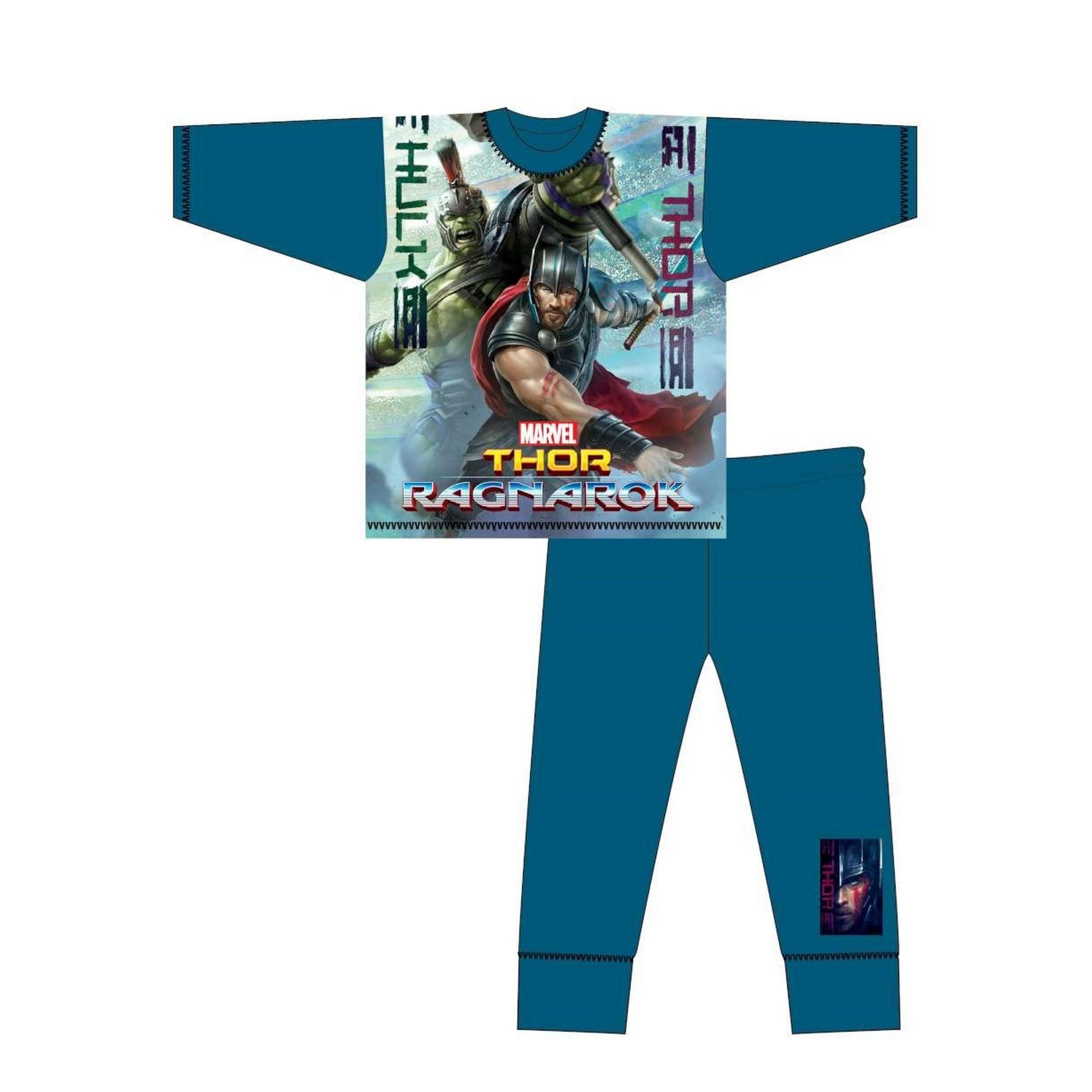 Marvel-Pijama-de-manga-larga-infantil-de-Thor-Ragnarok-TF548