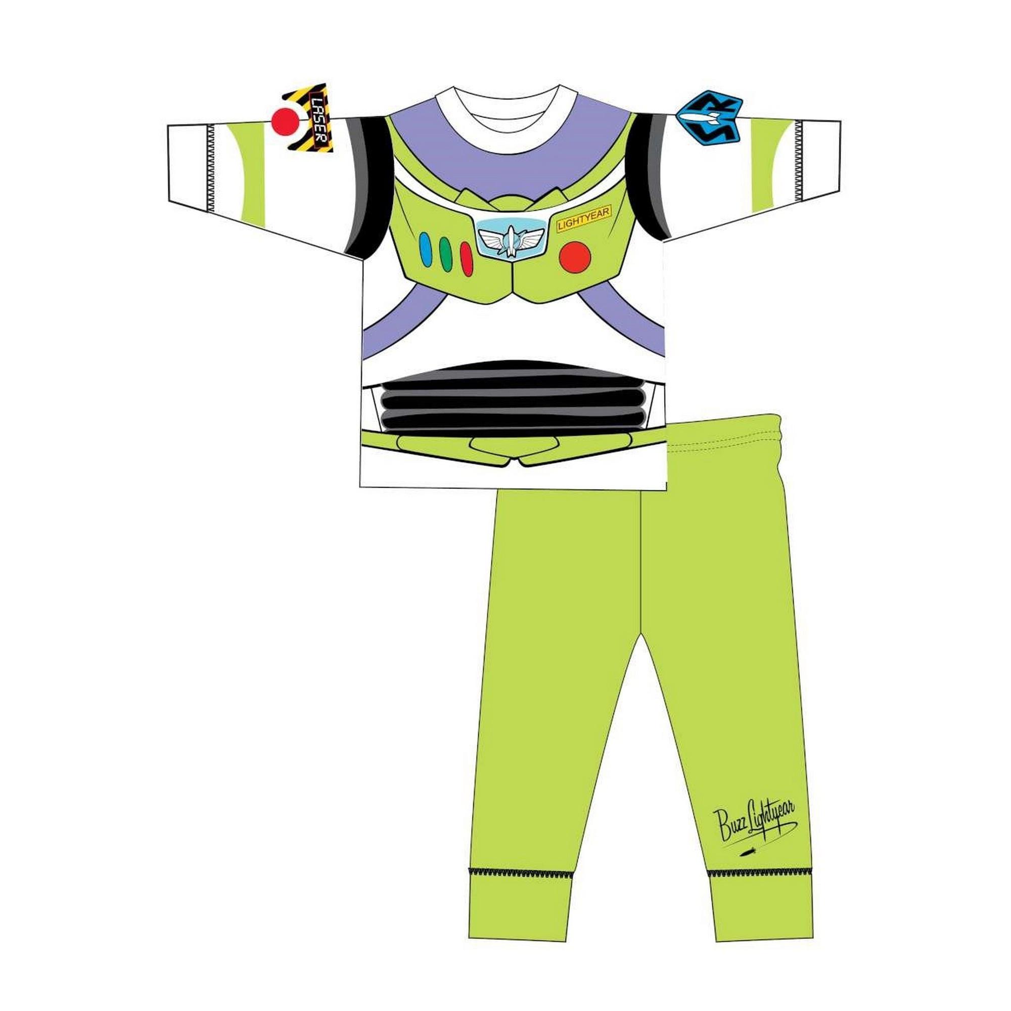 Toy-Story-Pijama-de-manga-larga-infantil-estilo-disfraz-de-Buzz-Lightyear