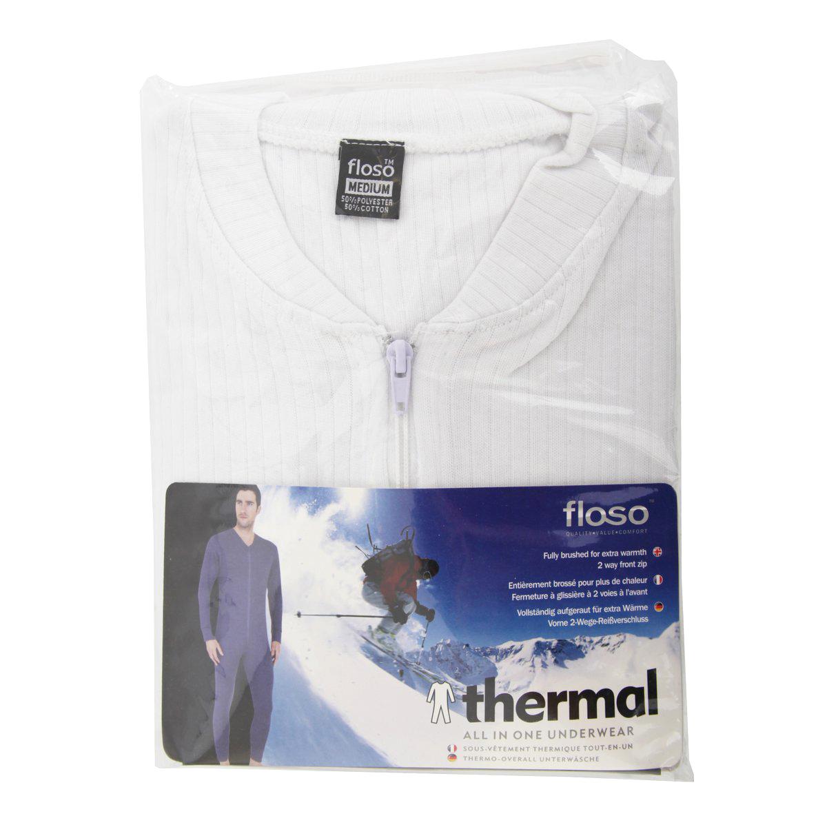 miniature 3 - FLOSO combinaison thermique - Homme (THERM136)