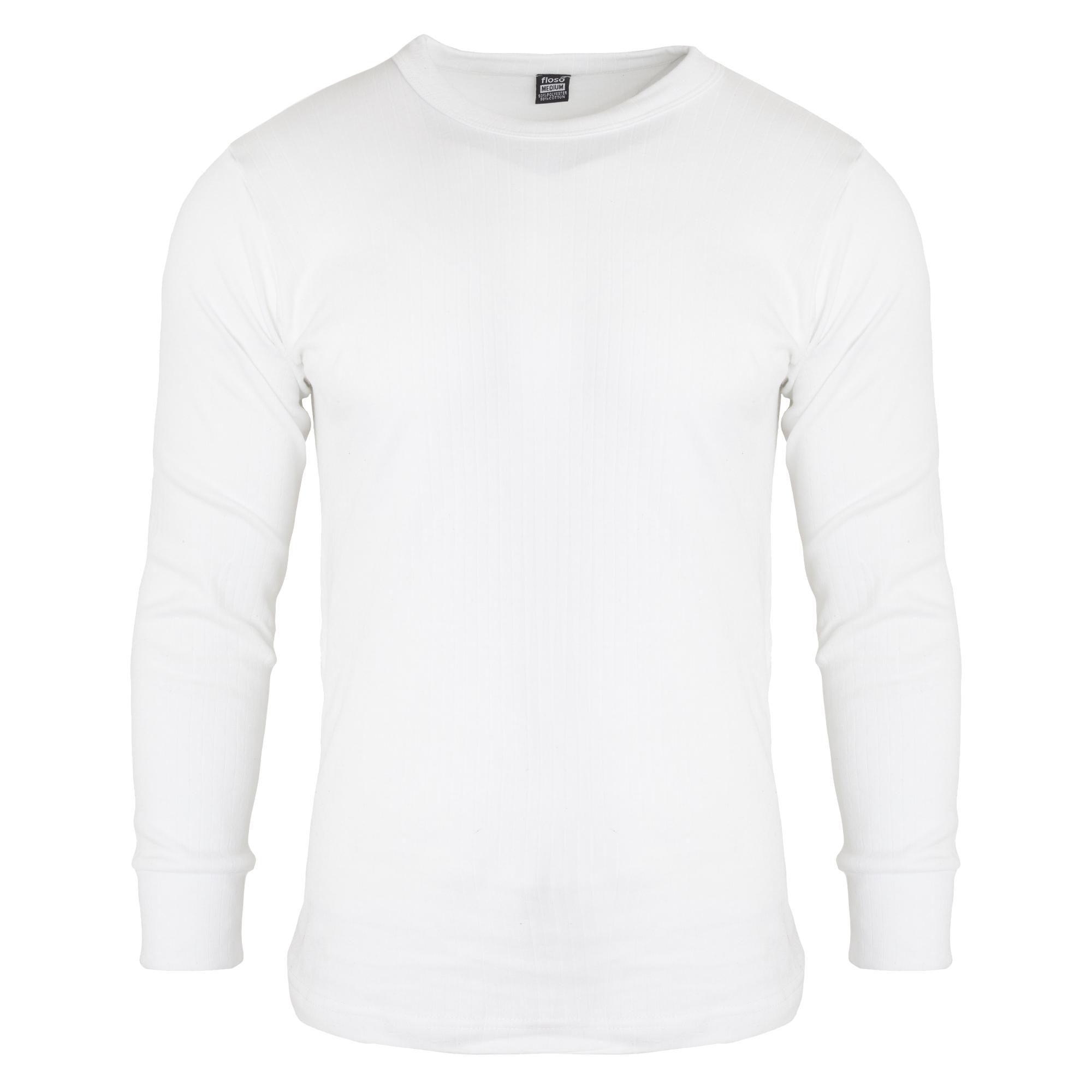 FLOSO-T-shirt-thermique-a-manches-longues-Homme-S-2XL-3-couleurs-THERM22 miniature 4