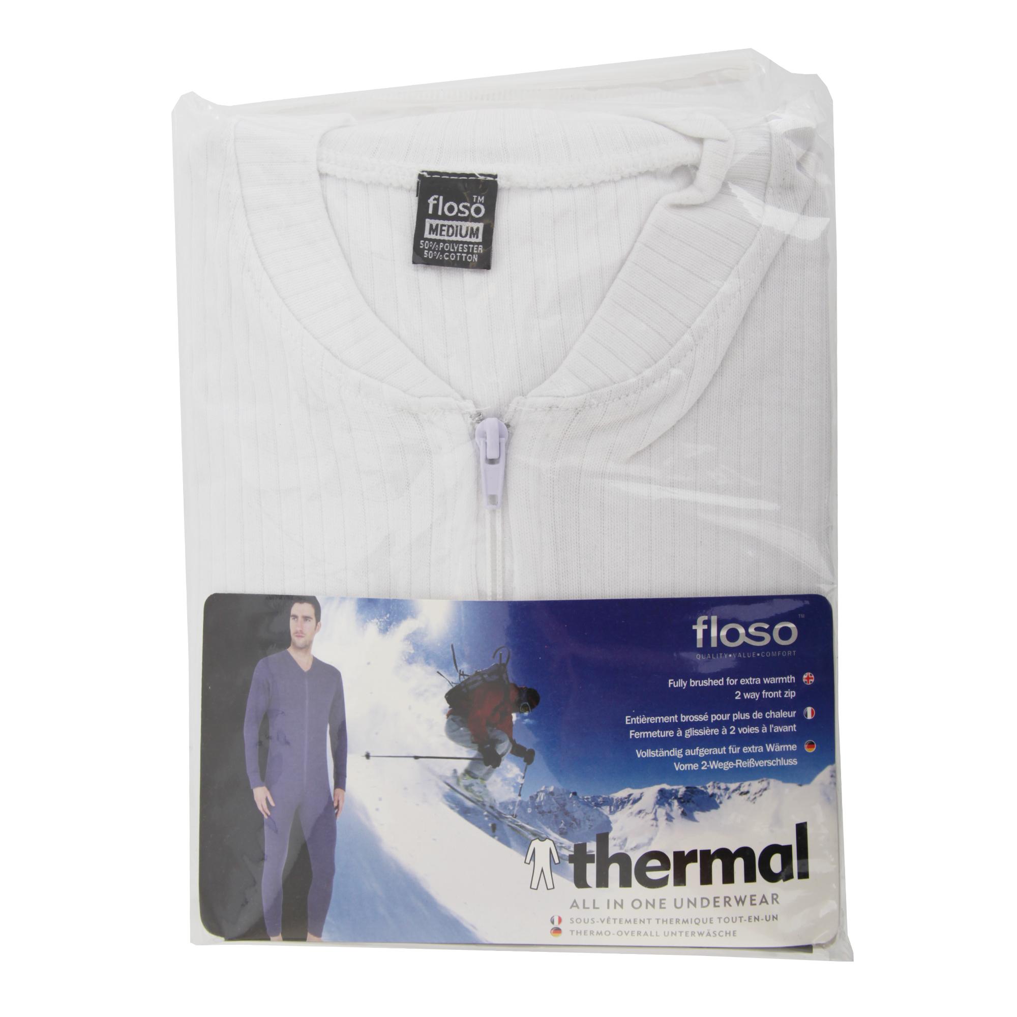 miniature 4 - FLOSO combinaison thermique - Homme (S-2XL) 3 couleurs (THERM45)