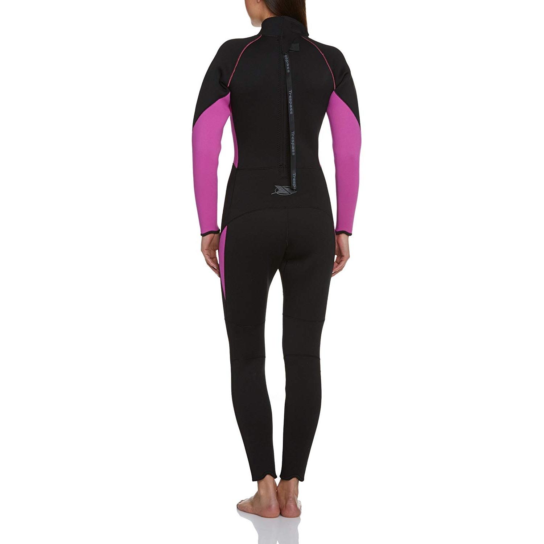 Indexbild 5 - Trespass Womens/Ladies Aquaria Full Length 5mm Wetsuit (TP121)