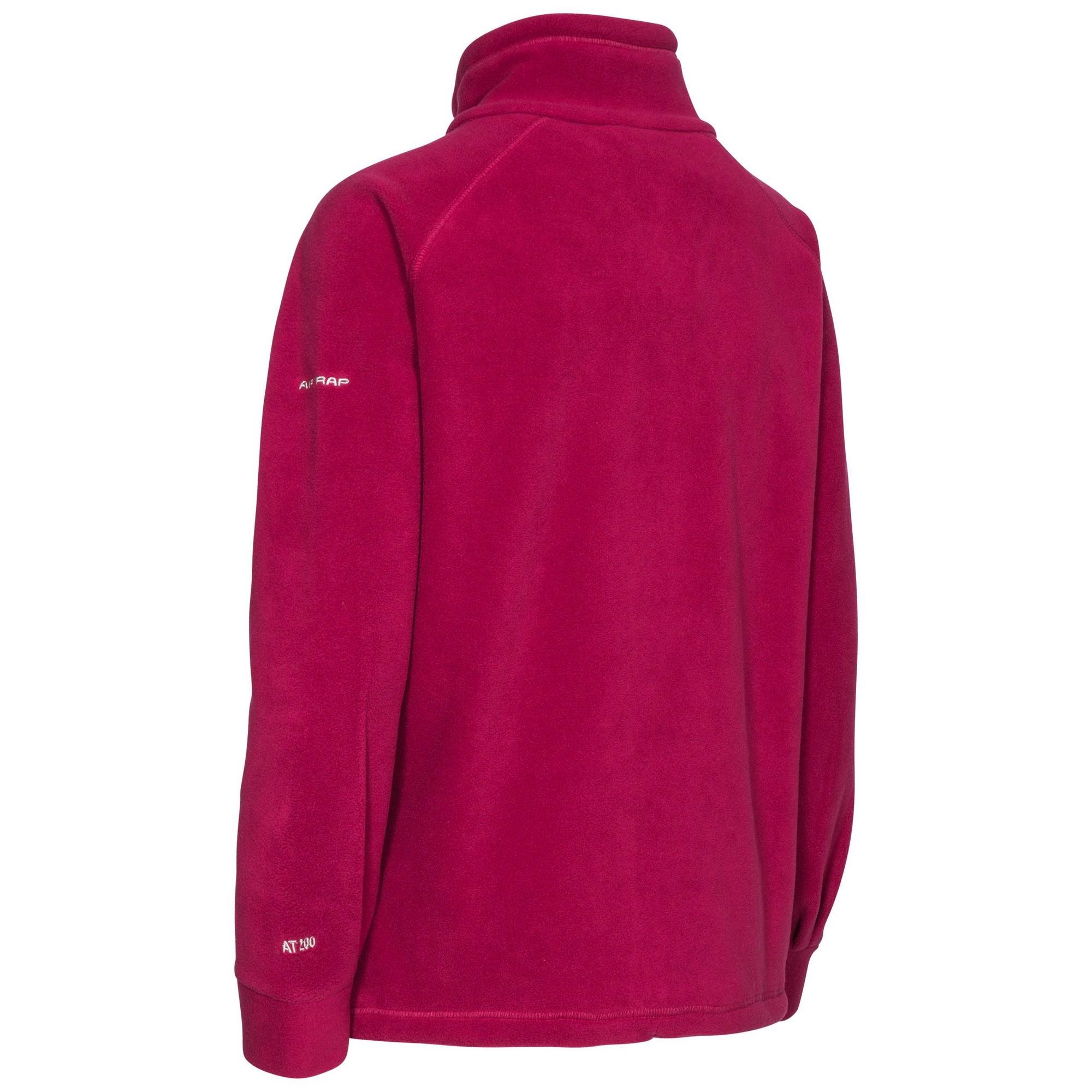 Trespass Womens/Ladies Clarice Full Zip Fleece Jacket (XXS) (Ghost)