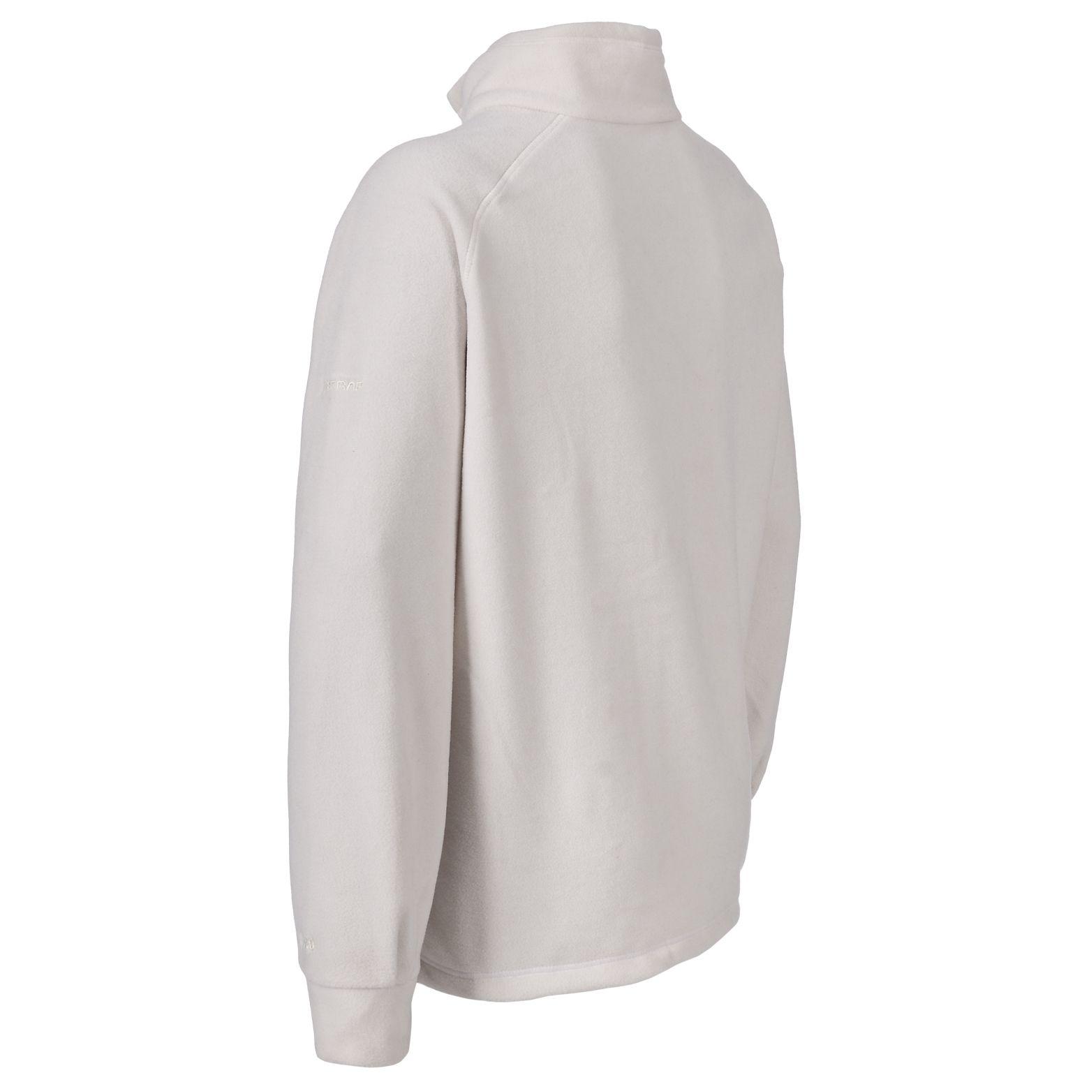 Trespass Womens/Ladies Clarice Full Zip Fleece Jacket (XXL) (Black)