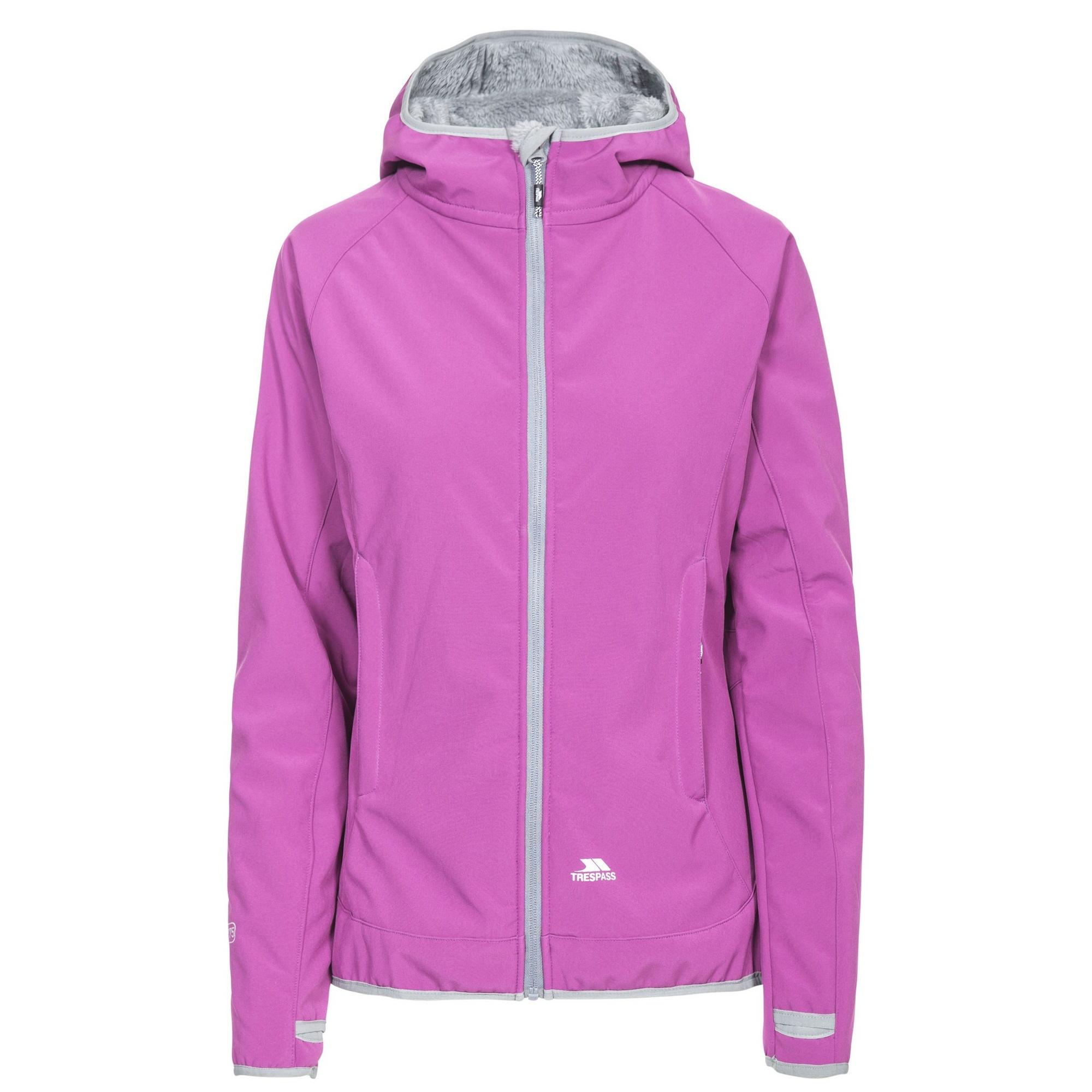 Trespass Womens/Ladies Imani Waterproof Softshell Jacket (XS) (Purple Orchid)