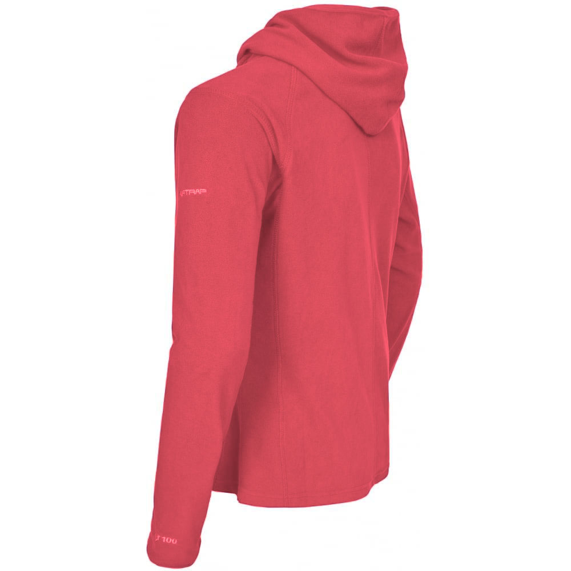 Trespass Womens/Ladies Marathon Hooded Full Zip Fleece Jacket (XS) (Blackcurrant)