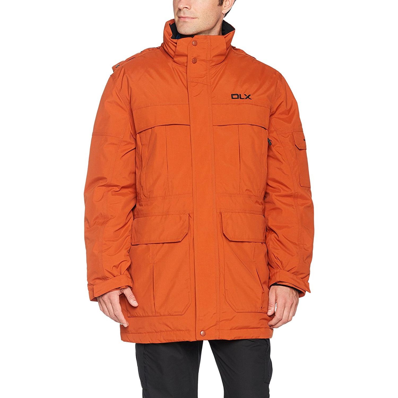 Trespass Mens Highland Waterproof Parka Jacket (S) (Khaki)