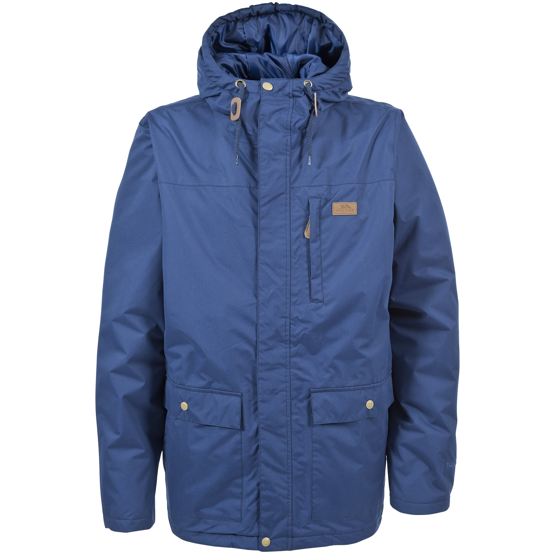 Trespass Mens Aston Waterproof Rain Jacket (S) (Navy Tone)
