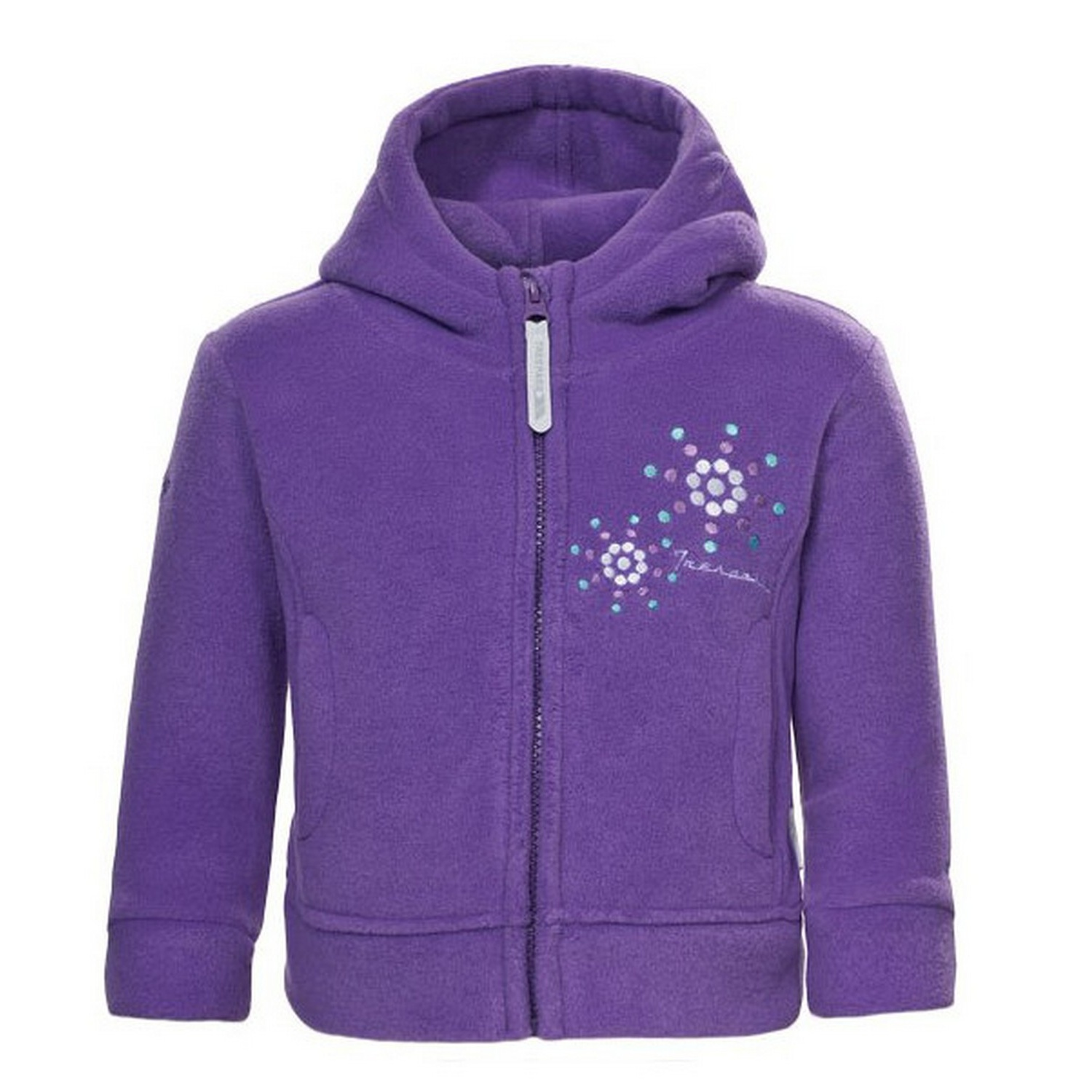 Trespass Babies Girls Shakira Full Zip Fleece Jacket (12/18 Months) (Viola)