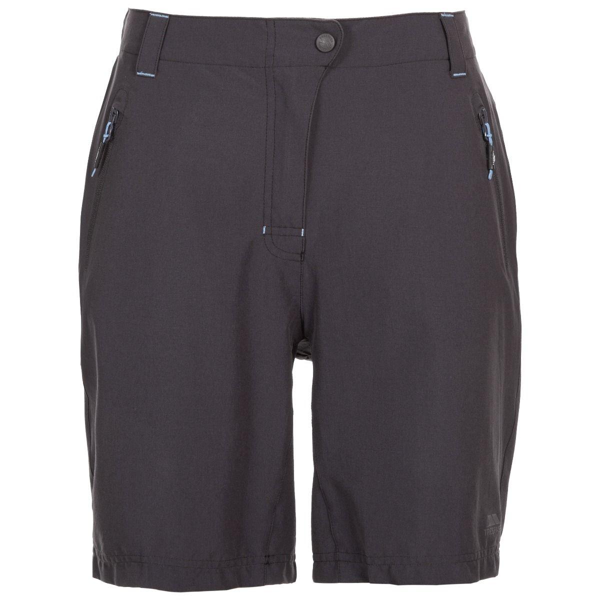 Trespass Womens/Ladies Brooksy Hiking Shorts (L) (Dark Grey)