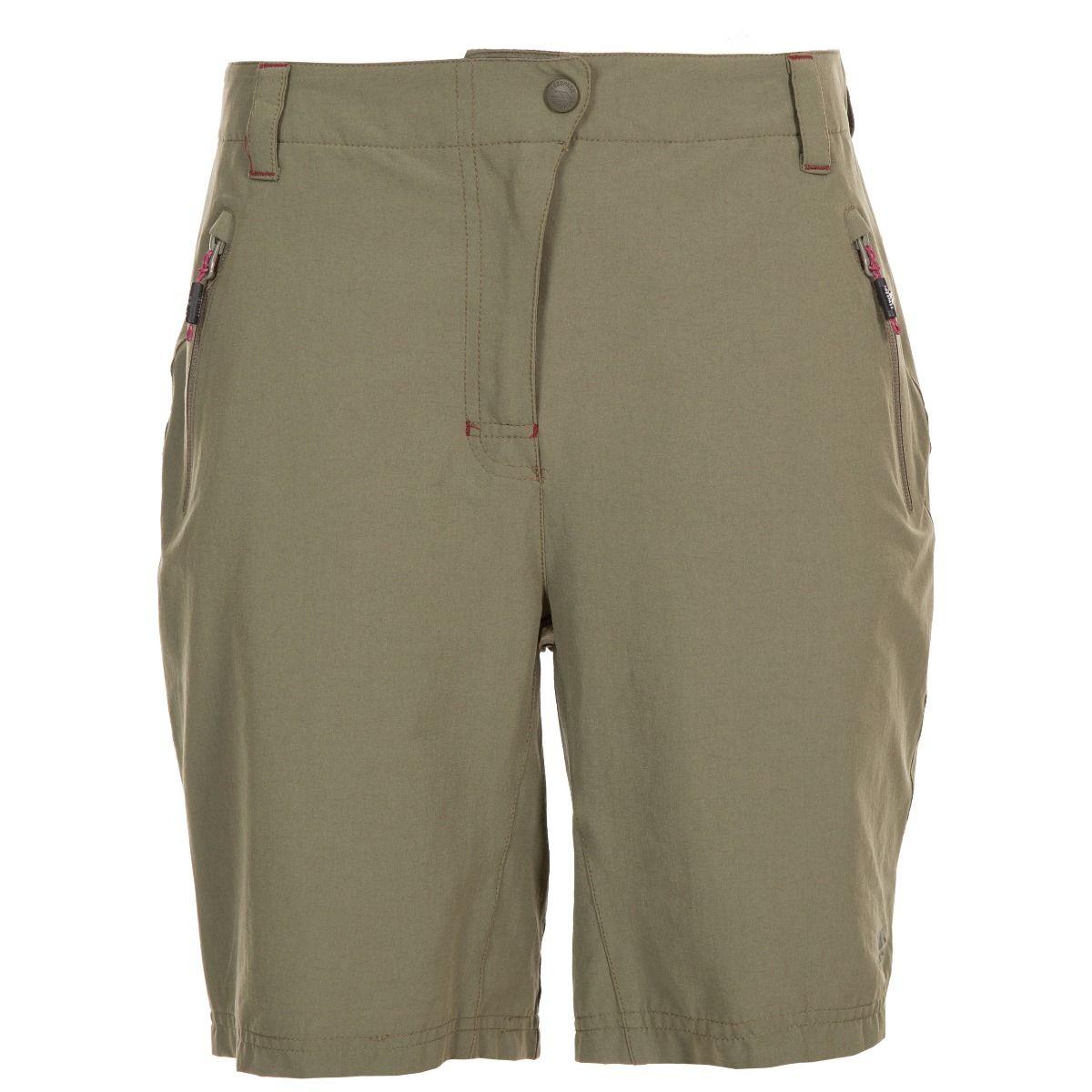Trespass Womens/Ladies Brooksy Hiking Shorts (M) (Herb)