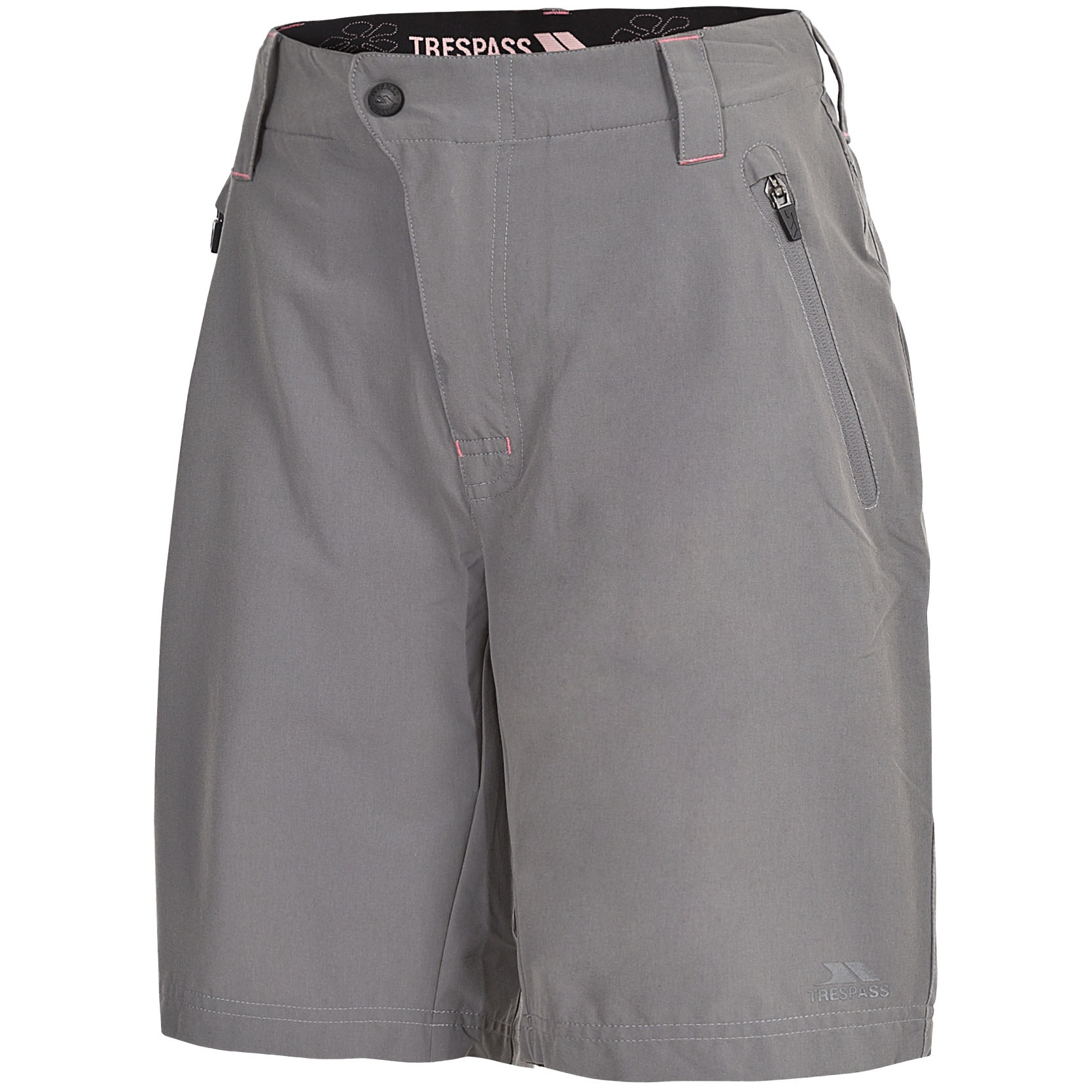 Trespass Womens/Ladies Brooksy Hiking Shorts (S) (Storm Grey)