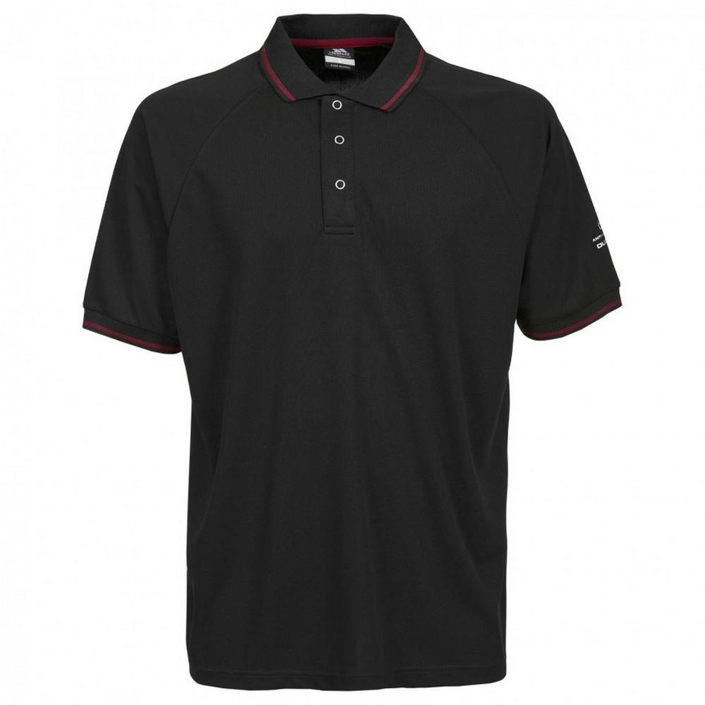Trespass-Bonington-Polo-sport-a-manches-courtes-Homme-TP2931 miniature 16
