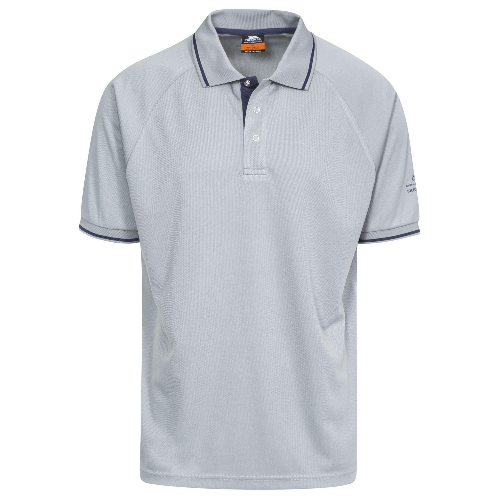 Trespass-Bonington-Polo-sport-a-manches-courtes-Homme-TP2931 miniature 19
