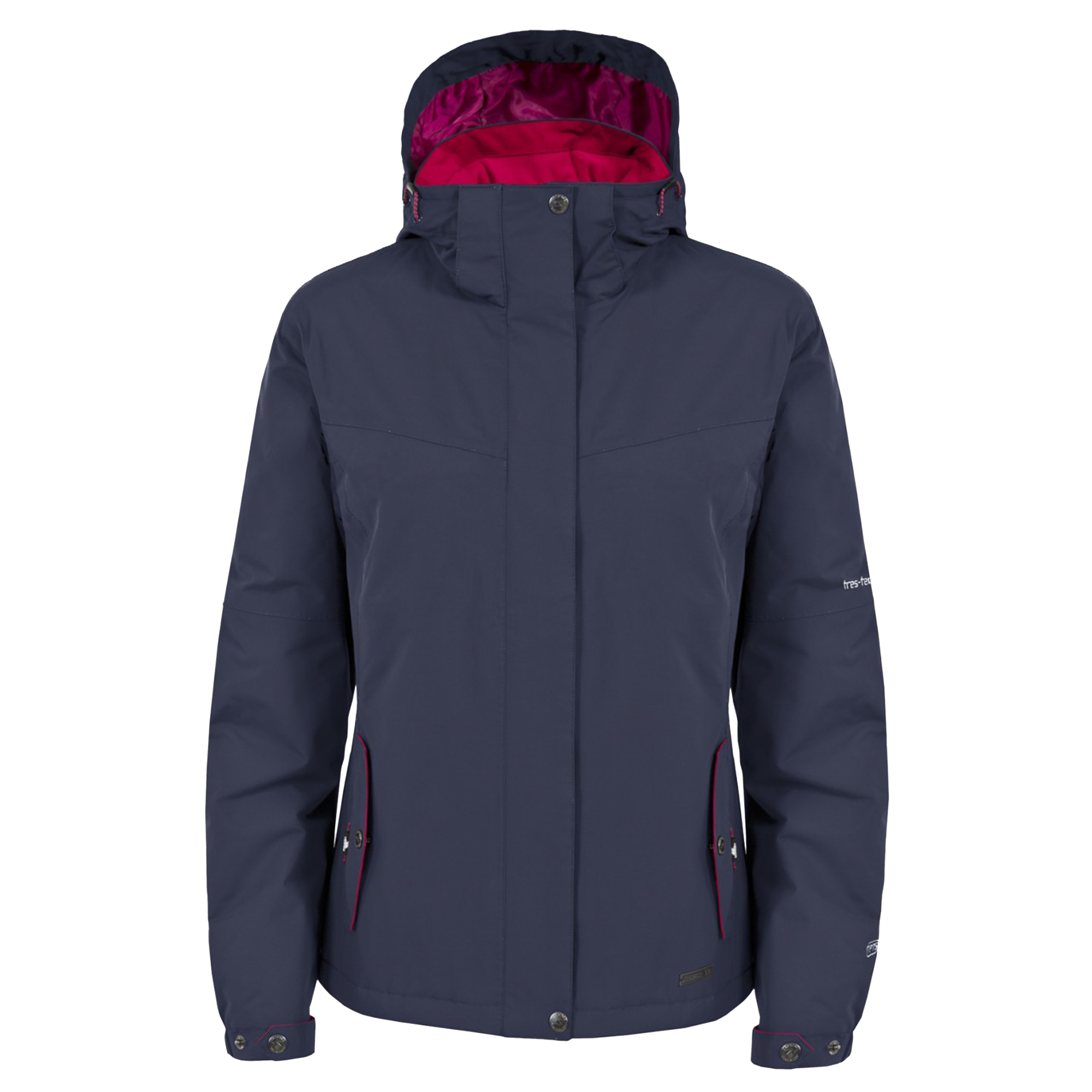 Trespass-Womens-Ladies-Malissa-Lightly-Padded-Waterproof-Jacket-TP3070 thumbnail 4