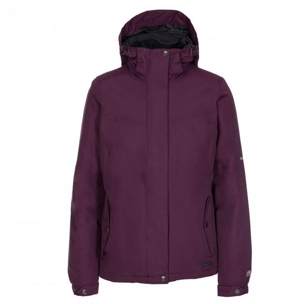 Trespass-Womens-Ladies-Malissa-Lightly-Padded-Waterproof-Jacket-TP3070 thumbnail 10