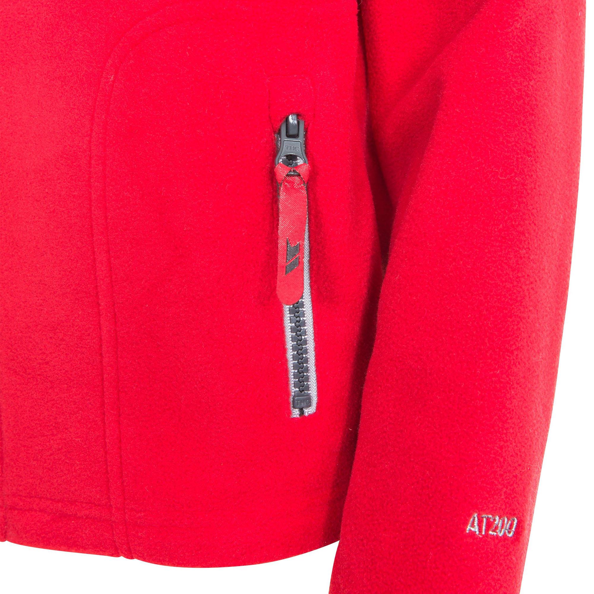 Trespass Childrens Boys Bieber Full Zip Fleece Jacket (2/3 Years) (Blue)