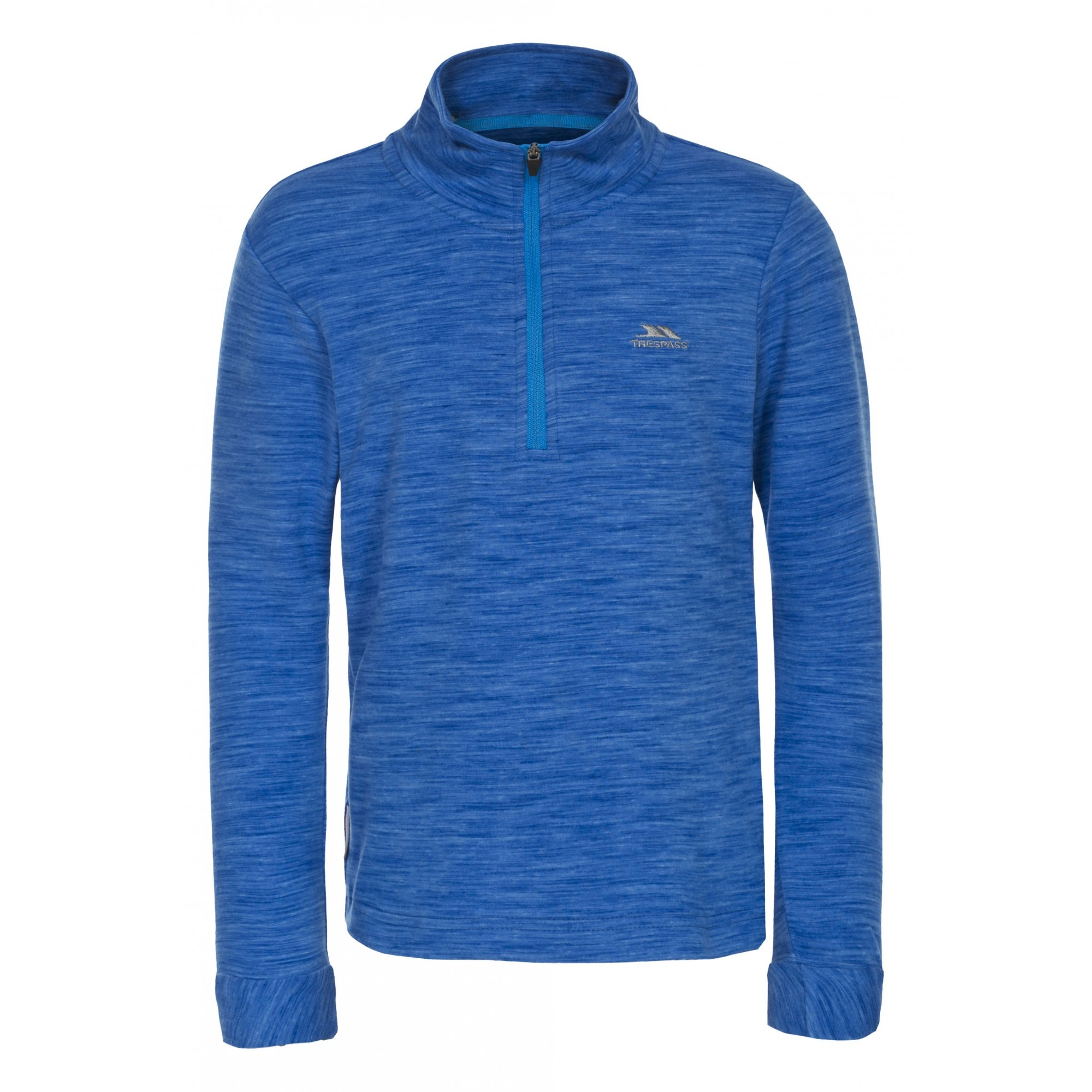 Trespass Childrens/Kids Abra 1/2 Zip Sweater Top (7/8 Years) (Grey Marl)