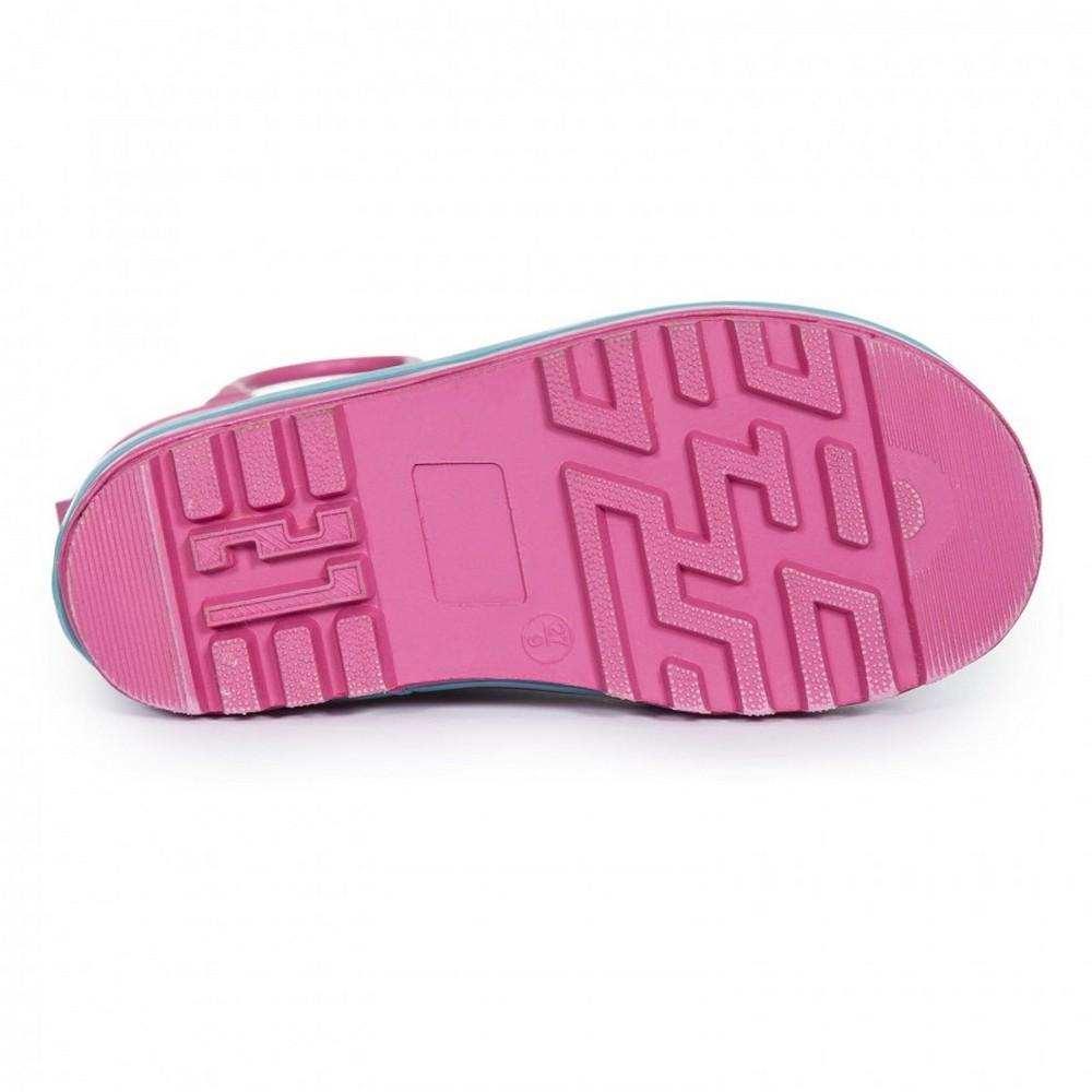 Trespass Childrens Girls Butterflie Waterproof Welly Boots TP3257