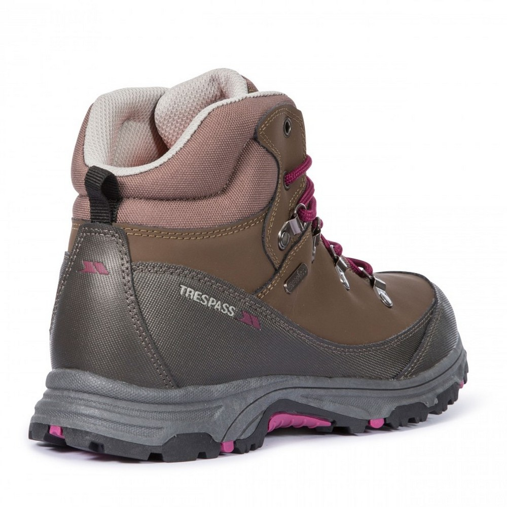 Trespass-Childrens-Kids-Glebe-II-Waterproof-Walking-Boots-TP3290 thumbnail 4