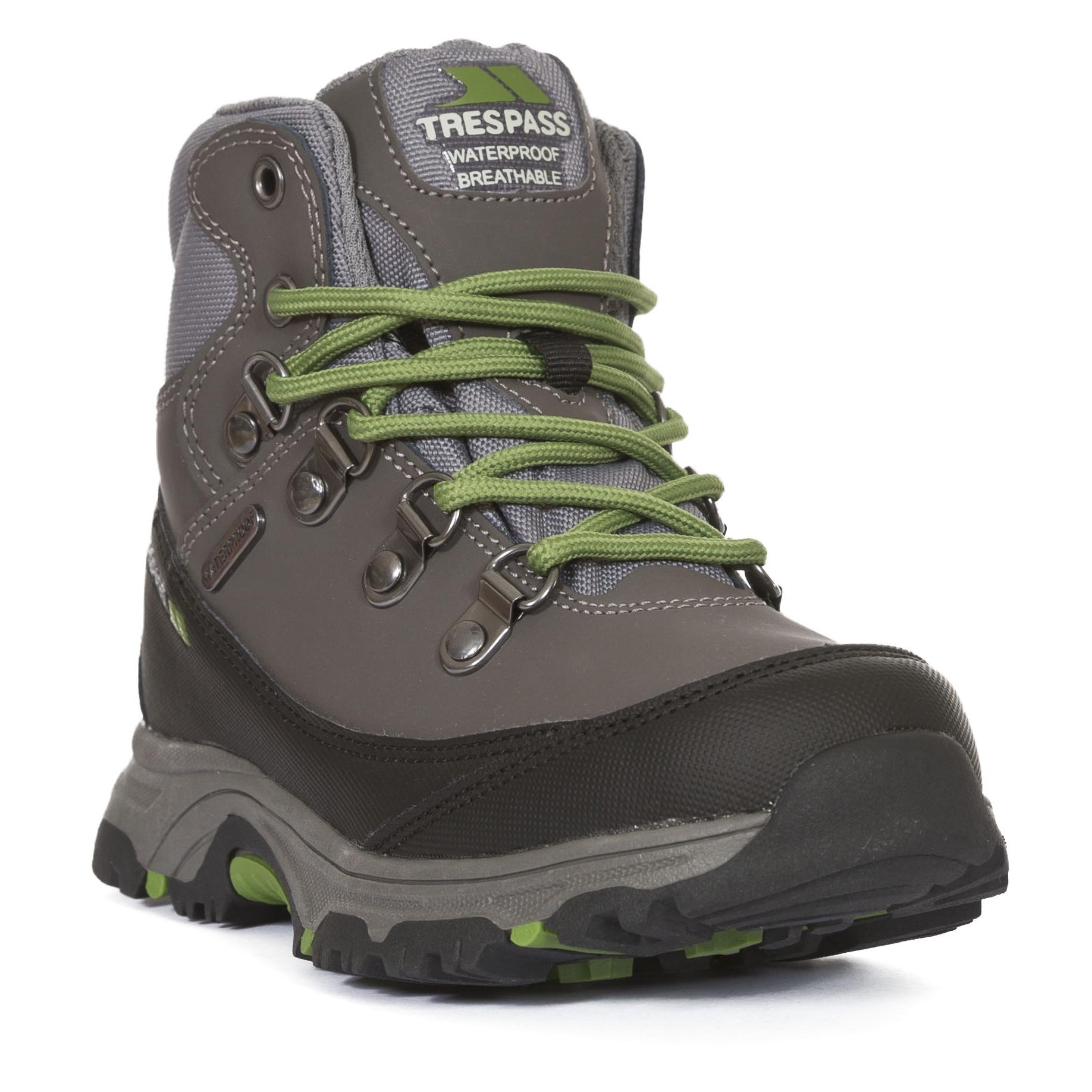 Trespass-Childrens-Kids-Glebe-II-Waterproof-Walking-Boots-TP3290 thumbnail 10