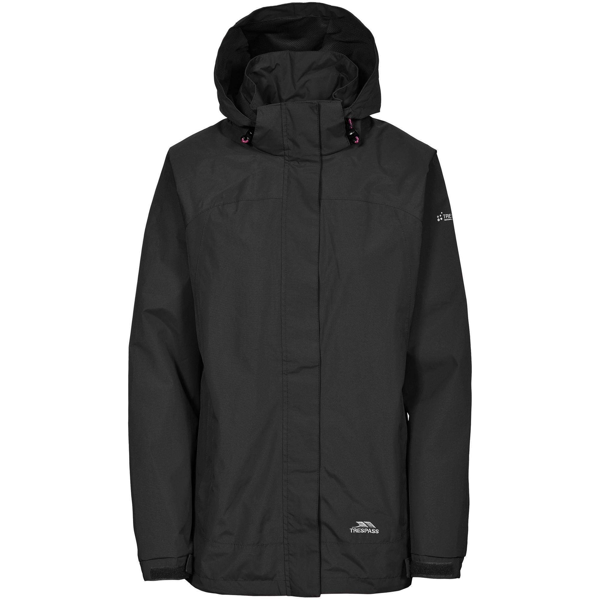 Trespass Womens/Ladies Nasu II Waterproof Shell Jacket (XS) (Lagoon)