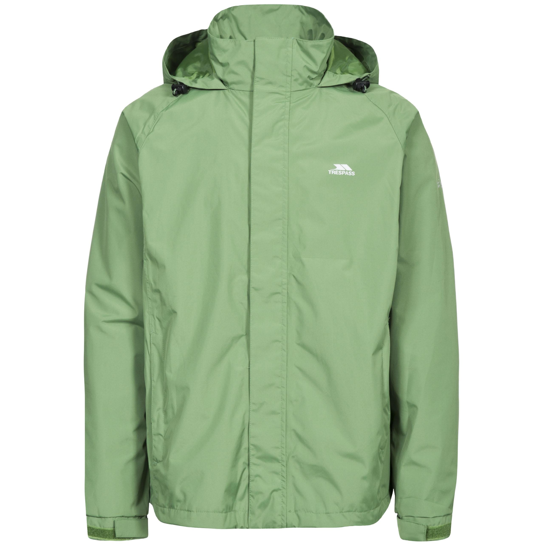 Trespass Mens Nabro II Waterproof Jacket (XXL) (Spinach)