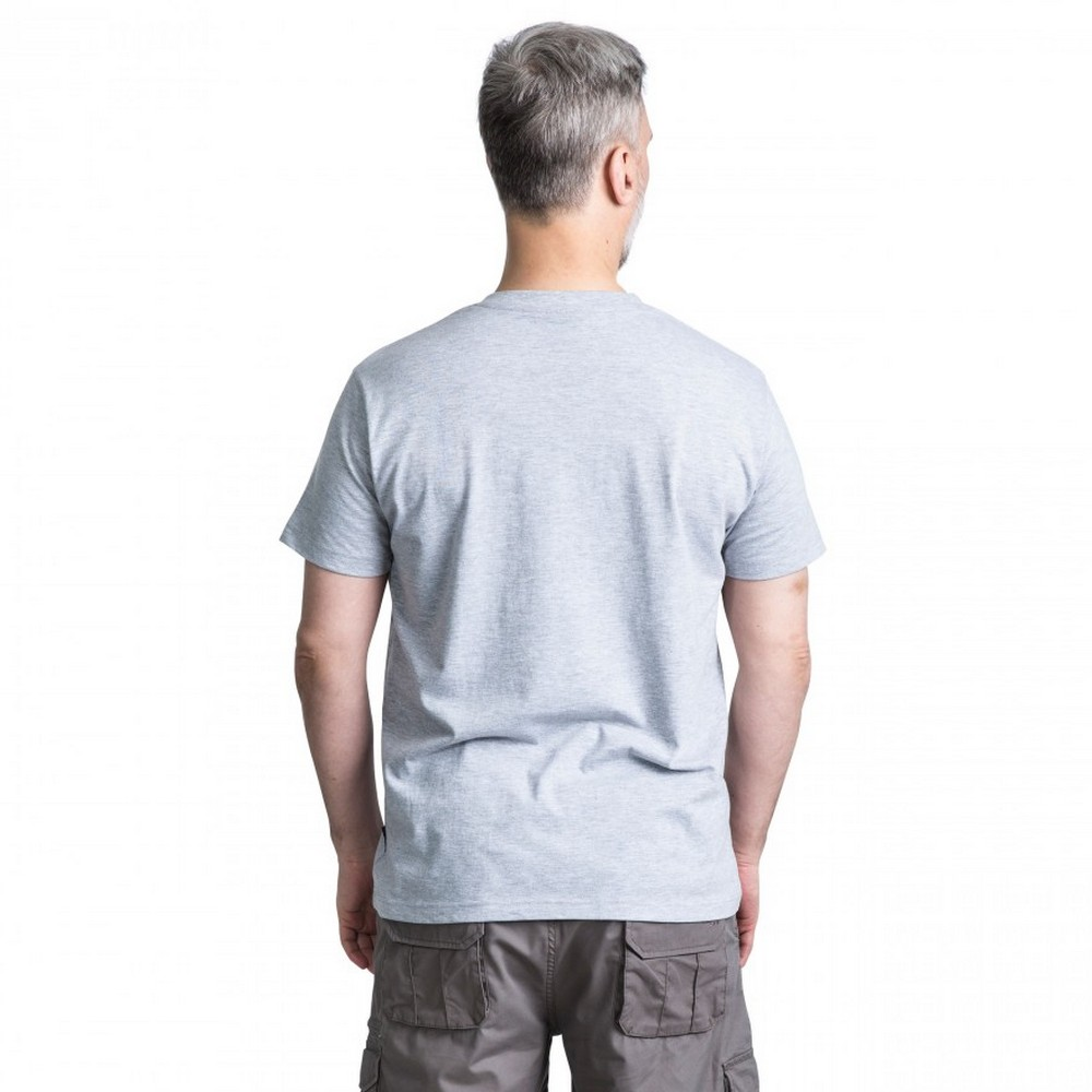 Trespass-Mens-Lyons-Casual-Short-Sleeve-T-Shirt-TP3400 thumbnail 5
