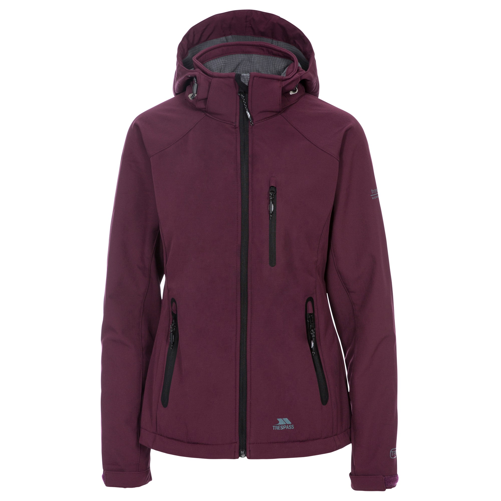 Trespass Womens/Ladies Bela II Waterproof Softshell Jacket (XL) (Fig)