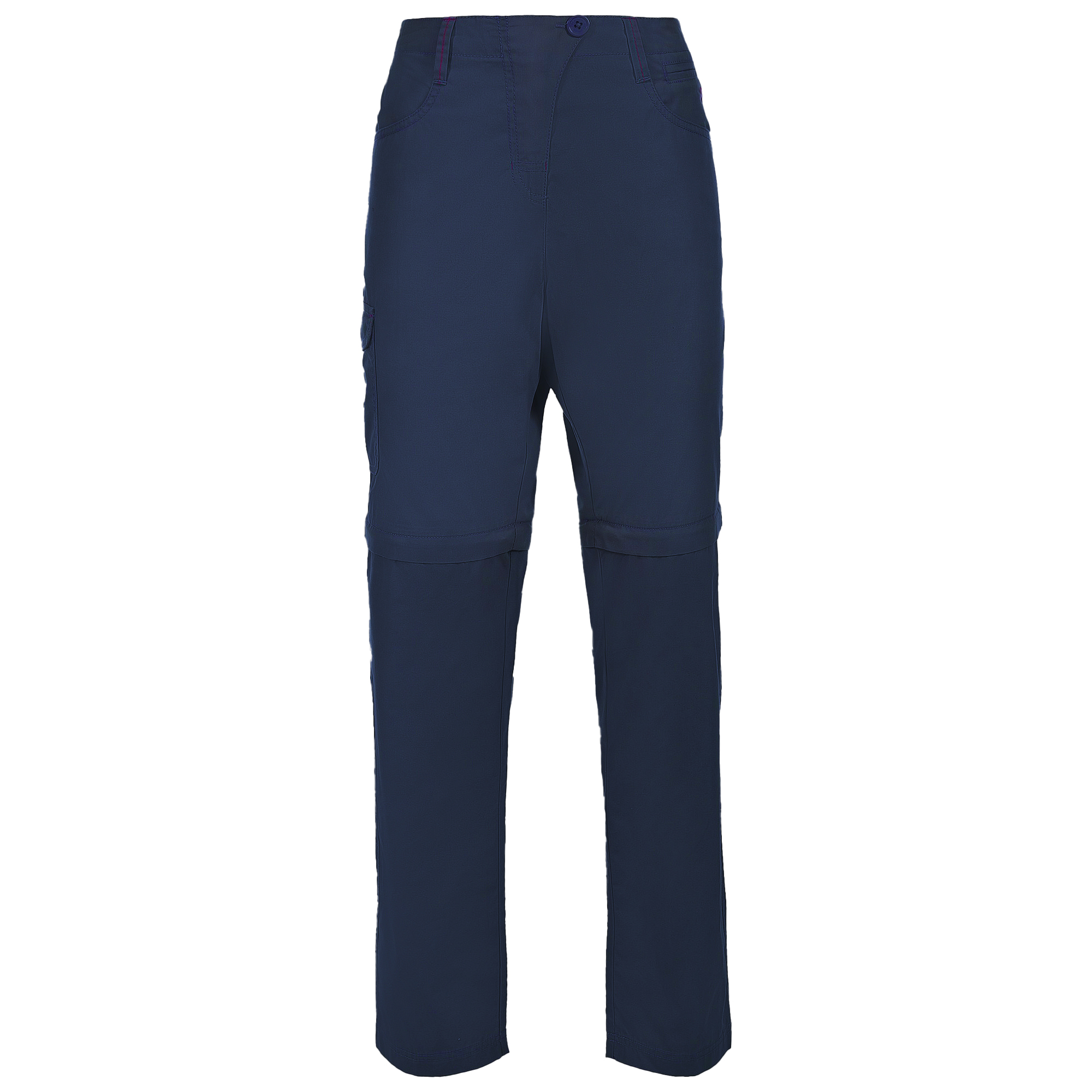 Trespass Womens/Ladies Rambler Convertible Hiking Trousers (XXS) (Navy)