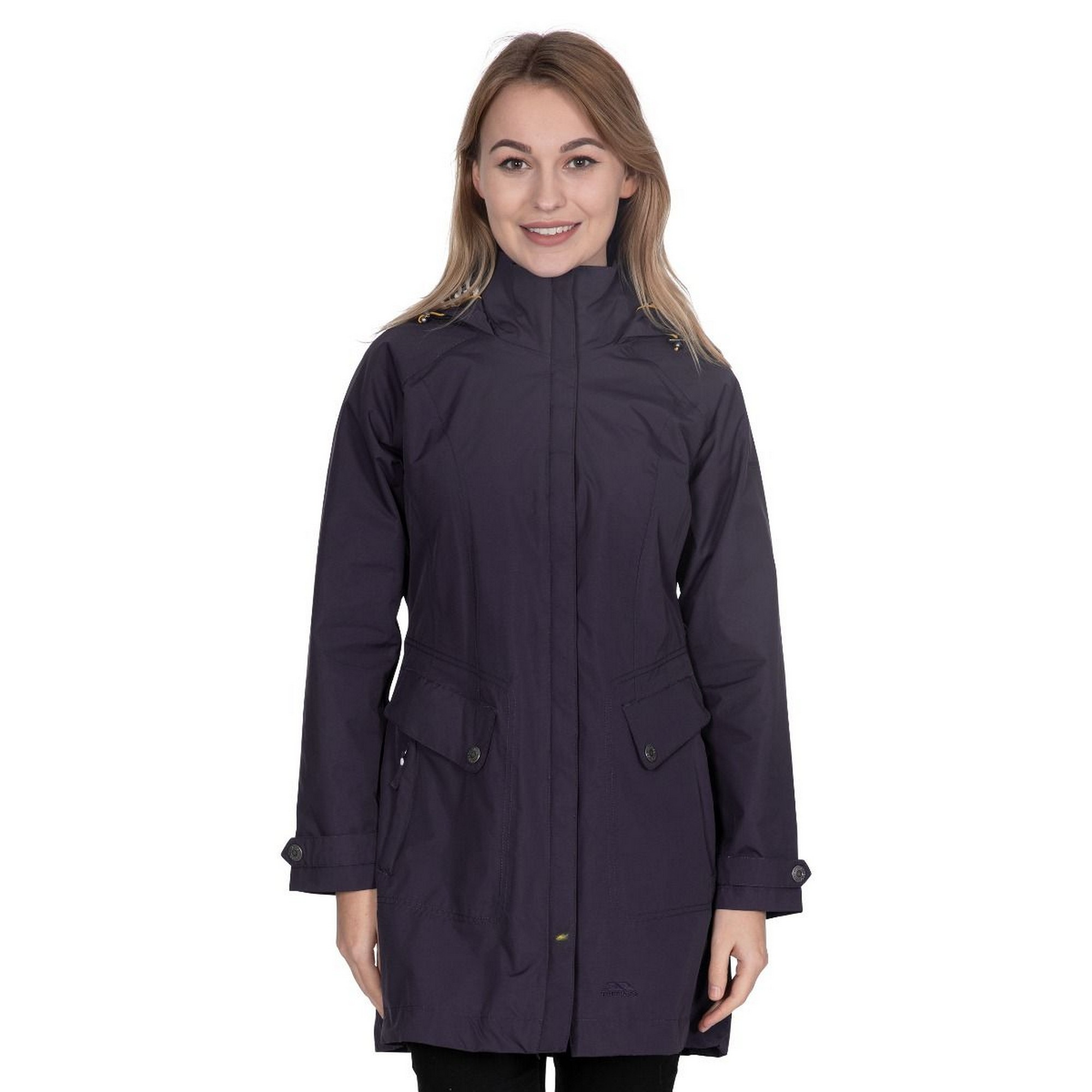 Trespass-Womens-Ladies-Rainy-Day-Waterproof-Jacket-TP3613 thumbnail 16