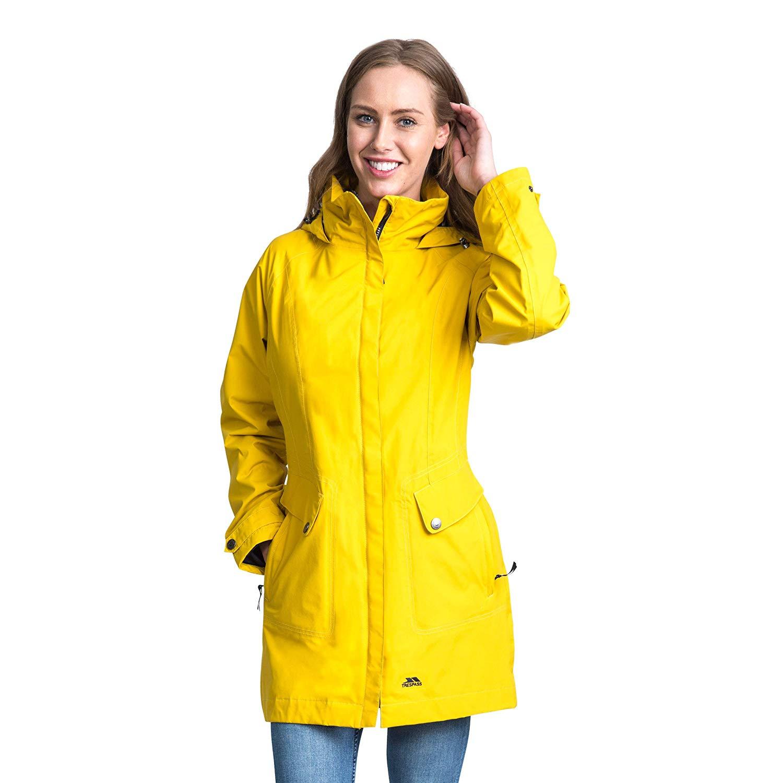 Trespass-Womens-Ladies-Rainy-Day-Waterproof-Jacket-TP3613 thumbnail 8