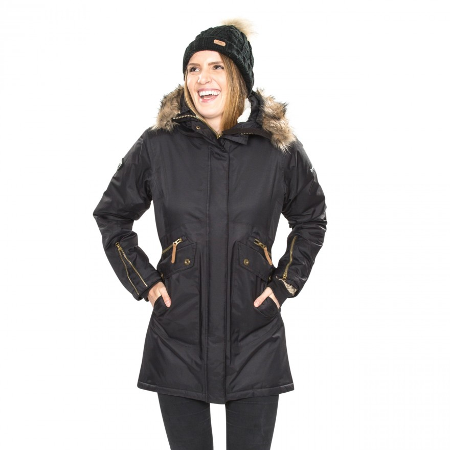 Trespass-Womens-Ladies-Eternally-Waterproof-Parka-Jacket-TP3617 thumbnail 6
