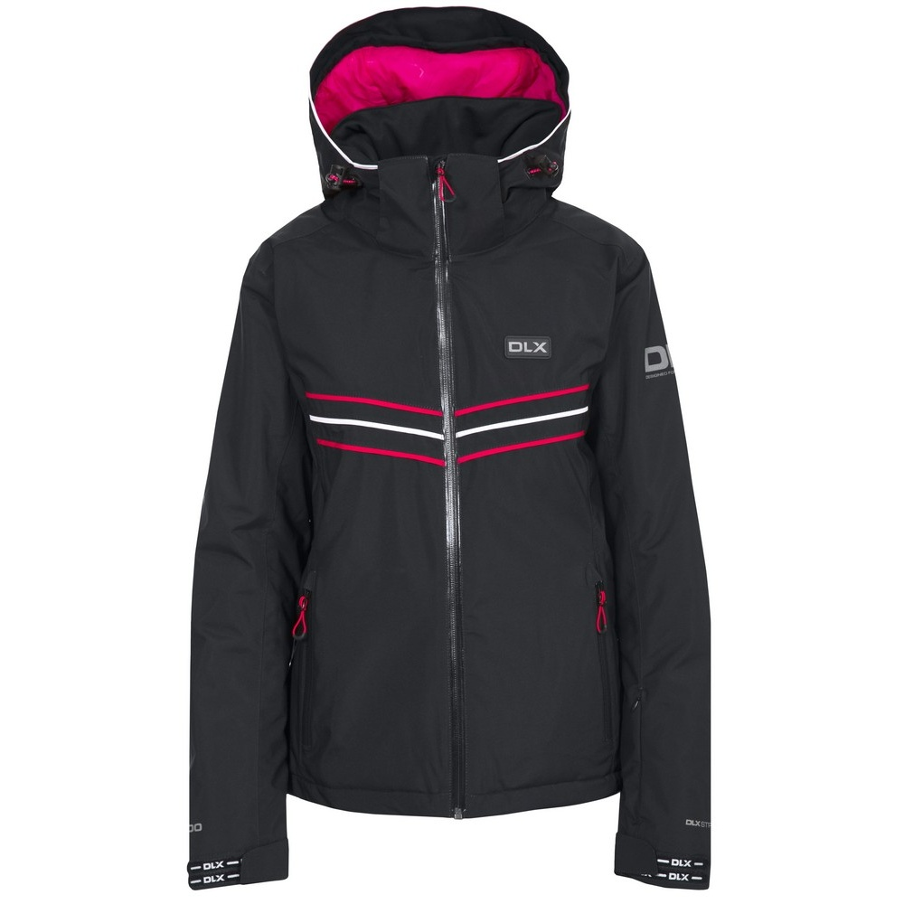 Trespass Womens/Ladies Hildy Waterproof DLX Ski Jacket (M) (Black)