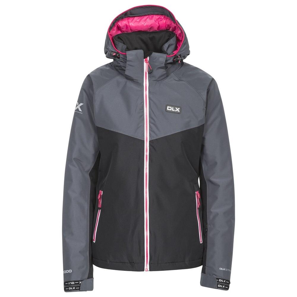 Trespass Womens/Ladies Crista Waterproof DLX Ski Jacket (XS) (Black)