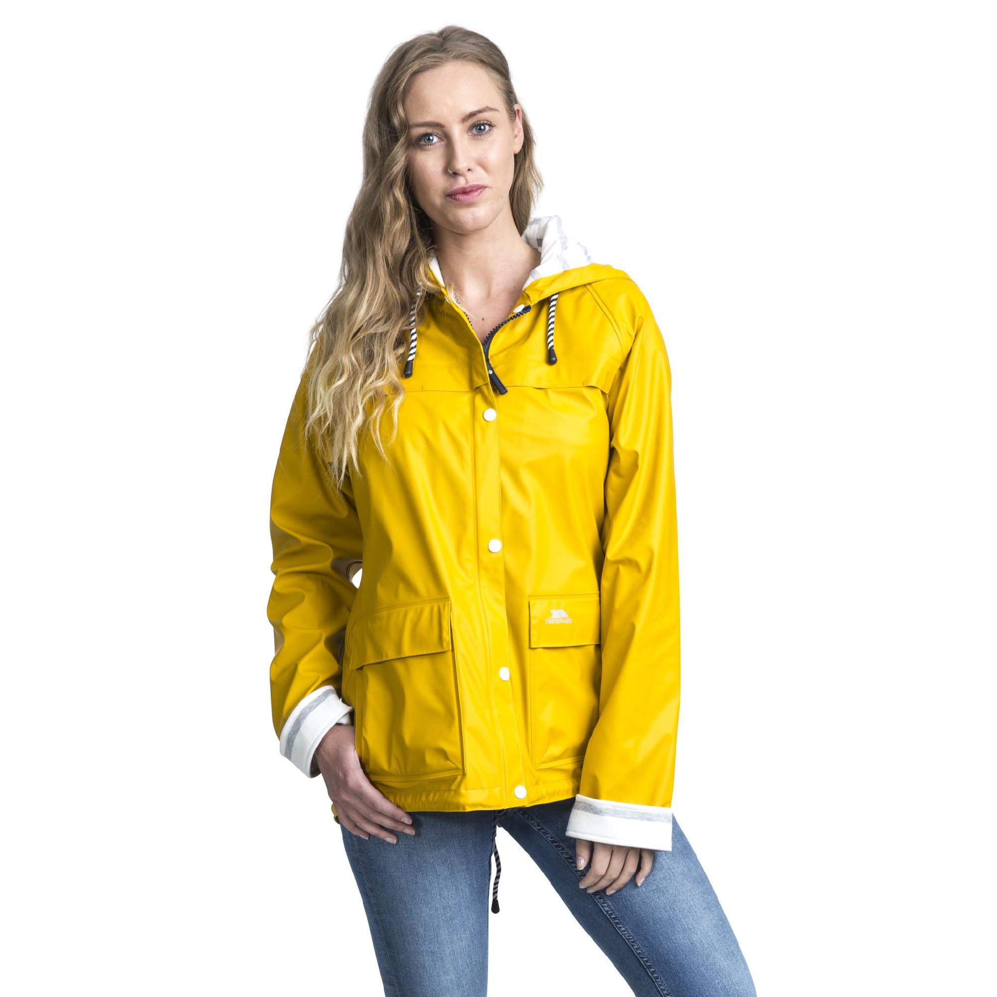 Trespass-Womens-Ladies-Muddle-Waterproof-Jacket-TP3991 thumbnail 4