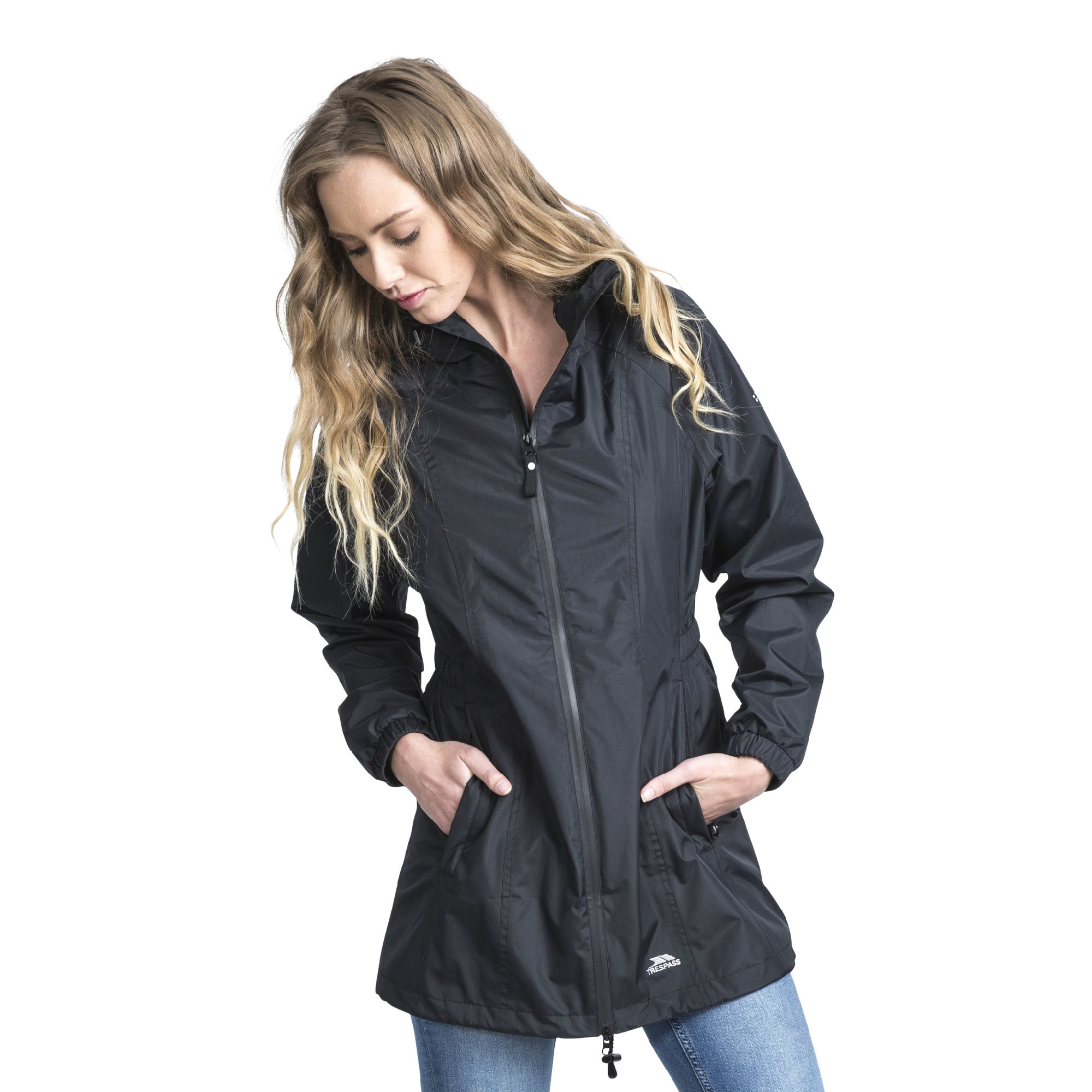 Trespass Womens/Ladies Waterproof Shell Jacket (S) (Fig)