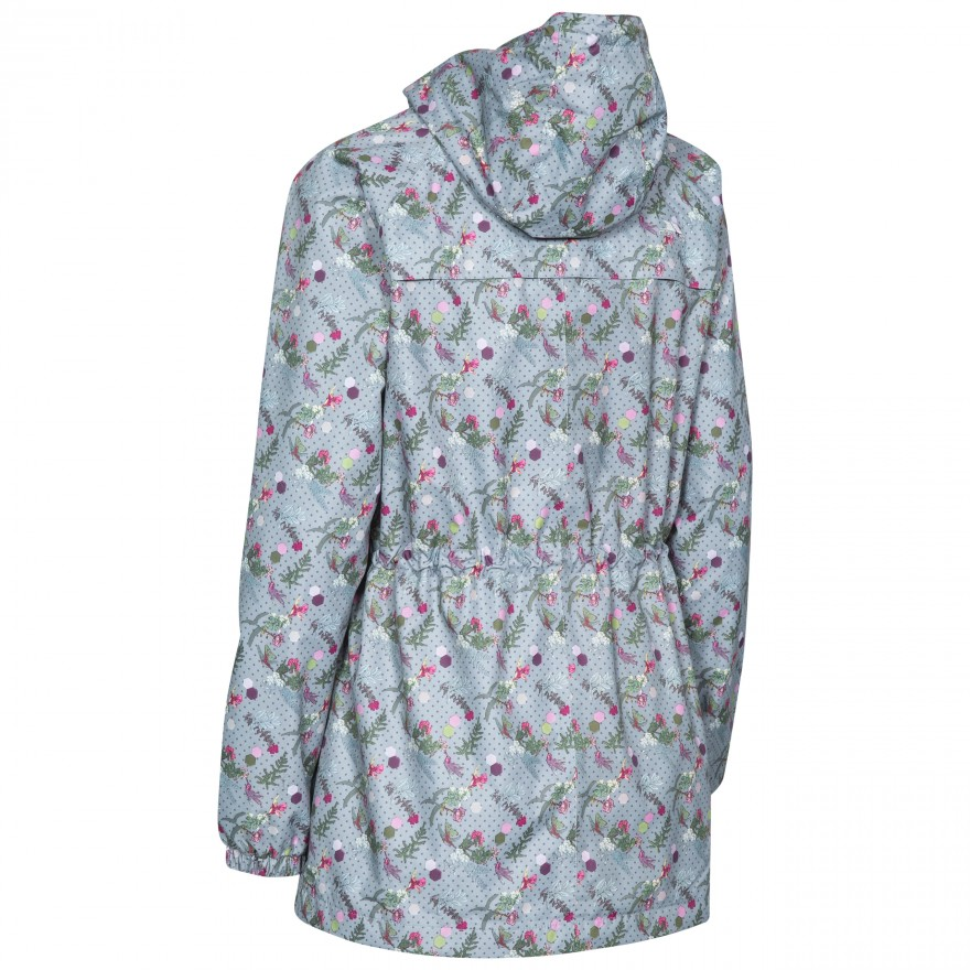 Trespass-Womens-Ladies-Pastime-Waterproof-Shell-Jacket-TP4041 thumbnail 5