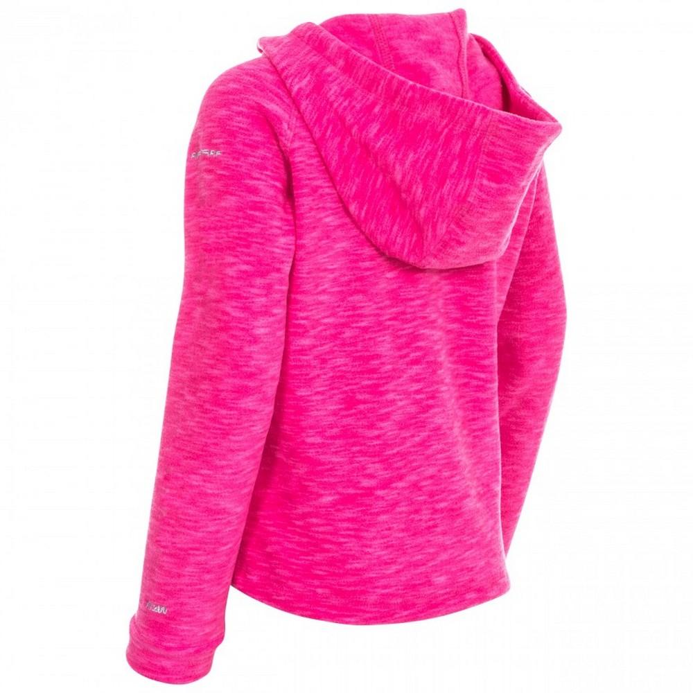 Trespass Childrens Girls Moonflow Hooded Fleece TP4051