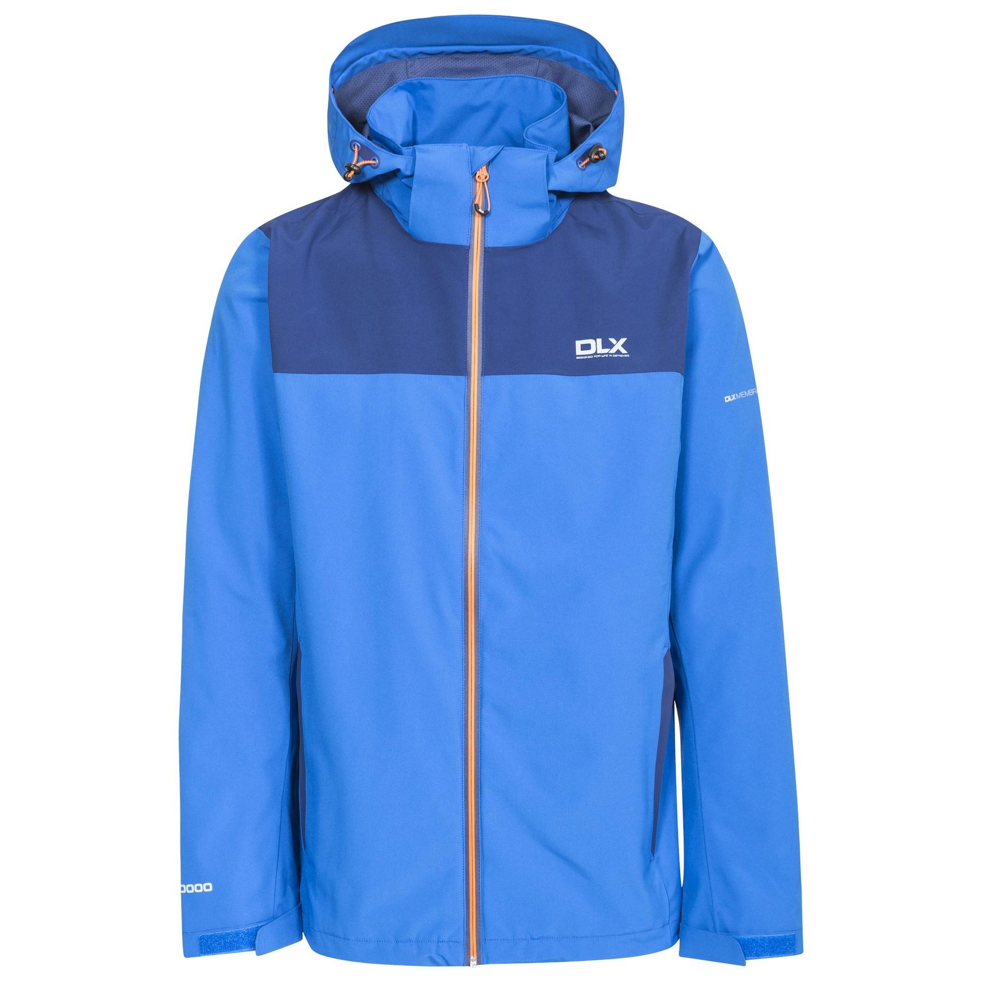 Trespass Mens Ginsberg Waterproof Jacket (XXS) (Blue)