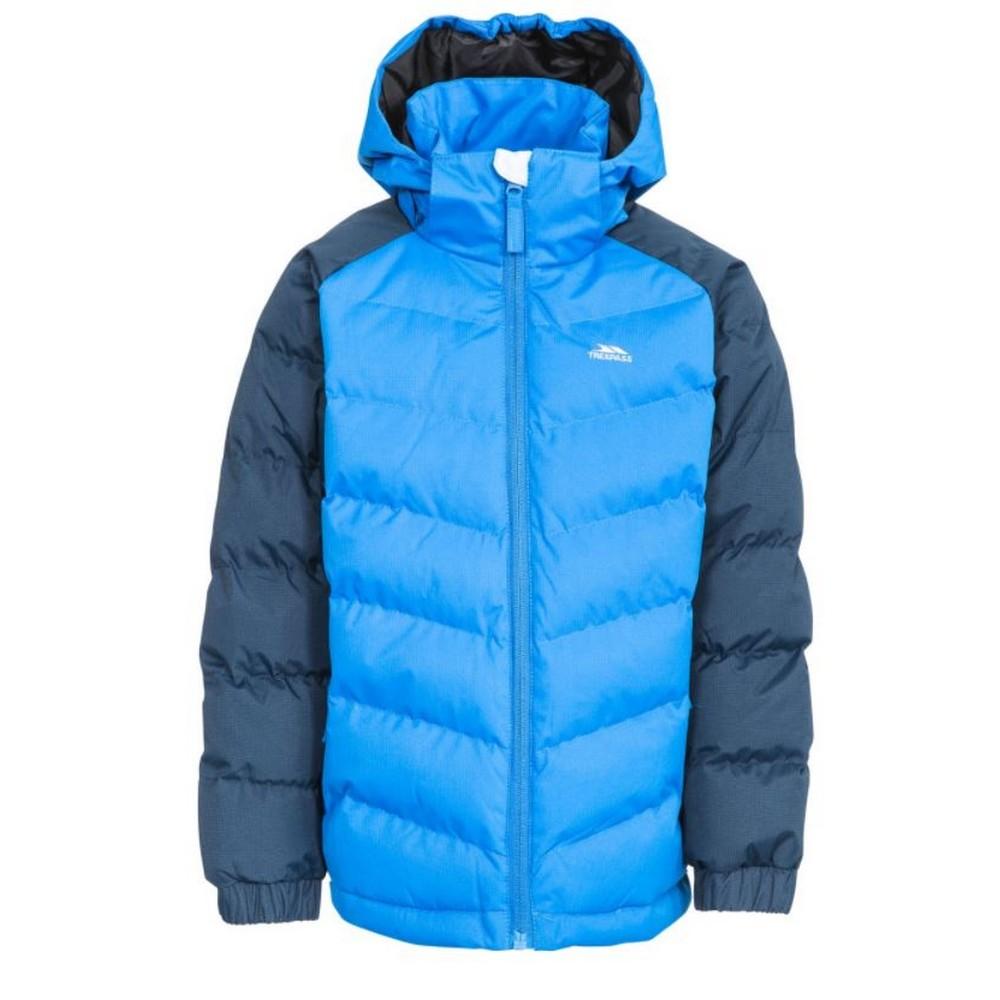 Trespass Childrens Boys Sidespin Waterproof Padded Jacket (5/6 Years) (Navy)