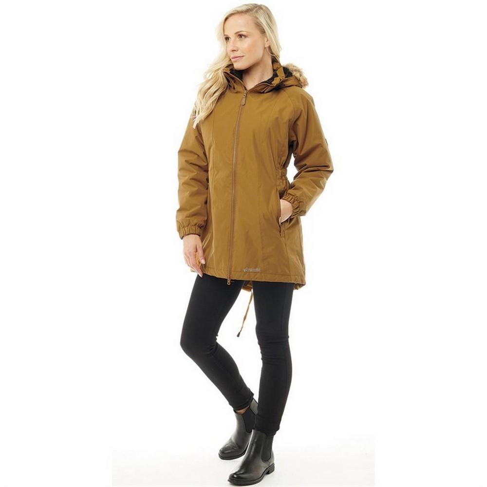 Trespass Womens//Ladies Celebrity Insulated Longer Length Parka Jacket TP4190