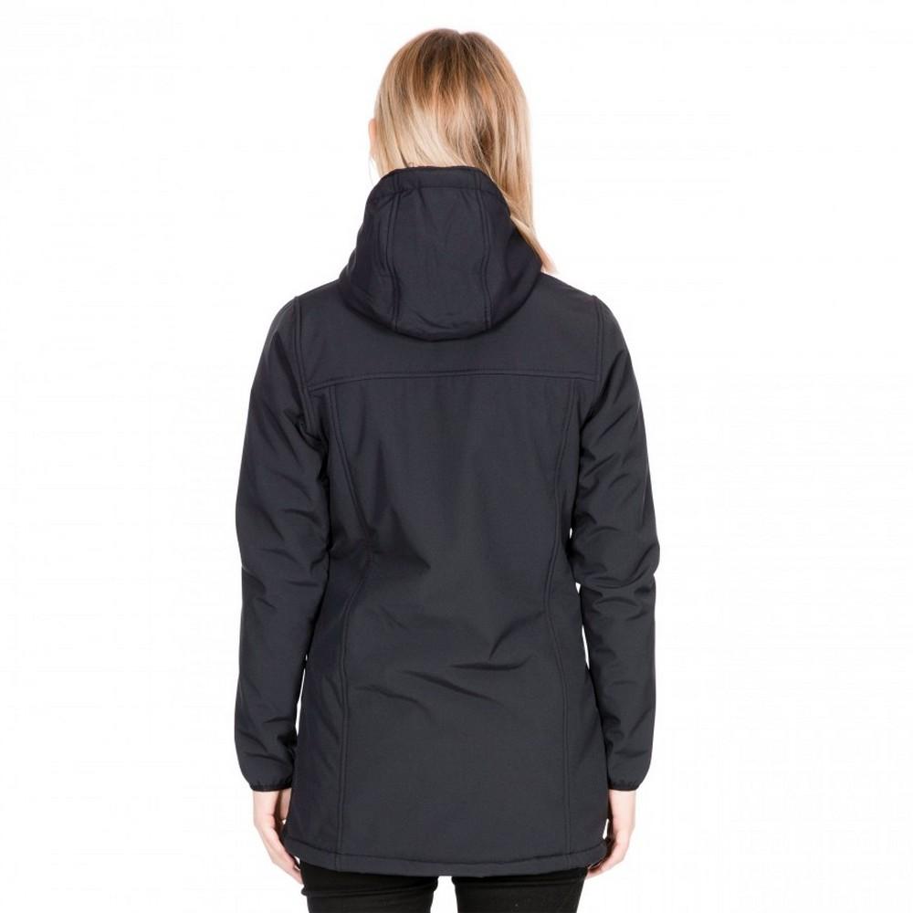 Trespass-Womens-Ladies-Kristen-Longer-Length-Hooded-Waterproof-Jacket-TP4195 thumbnail 5