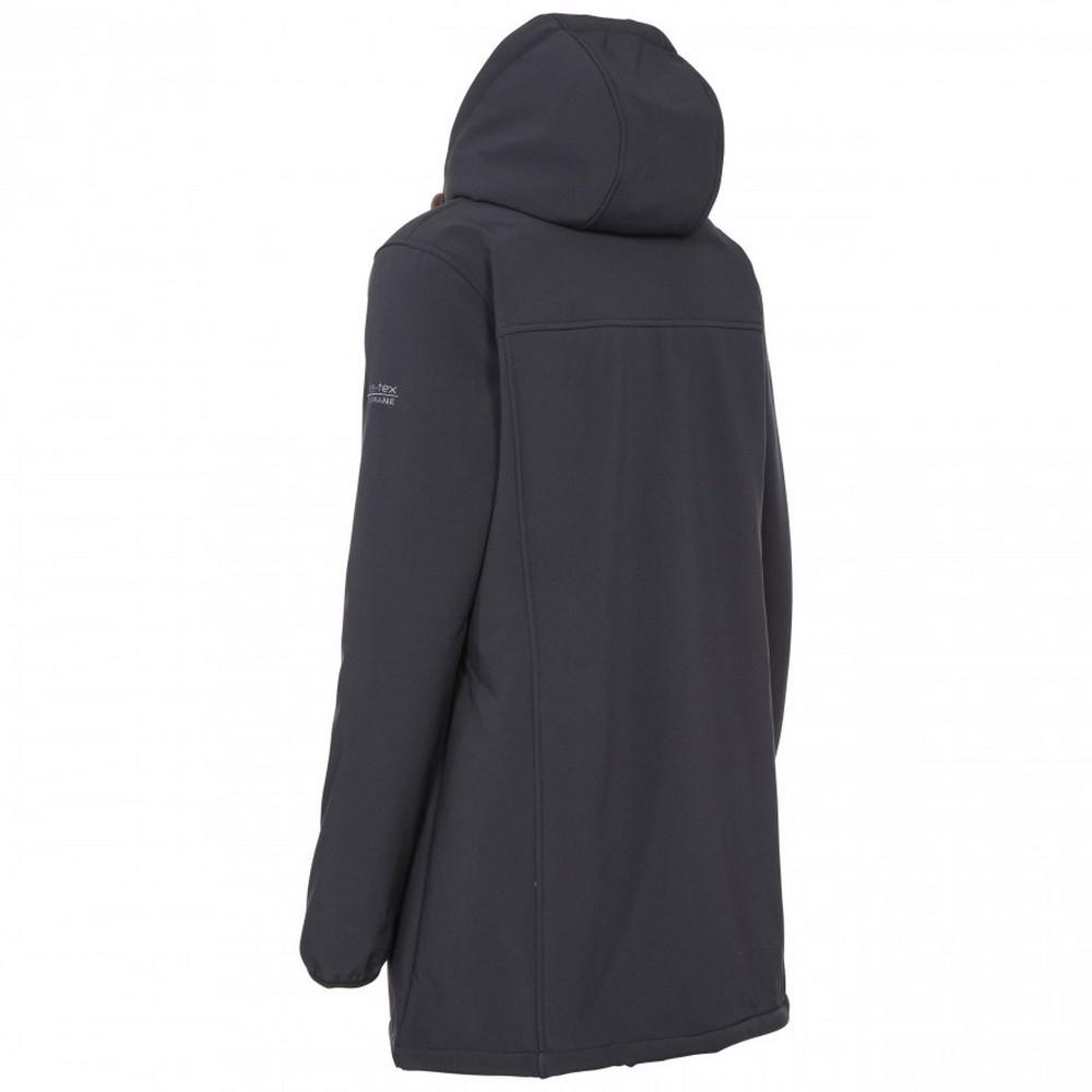 Trespass-Womens-Ladies-Kristen-Longer-Length-Hooded-Waterproof-Jacket-TP4195 thumbnail 6