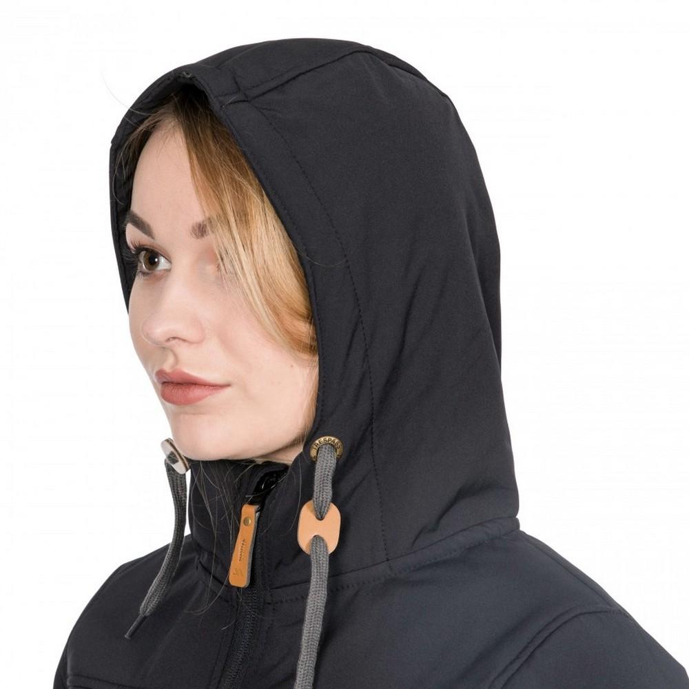 Trespass-Womens-Ladies-Kristen-Longer-Length-Hooded-Waterproof-Jacket-TP4195 thumbnail 7