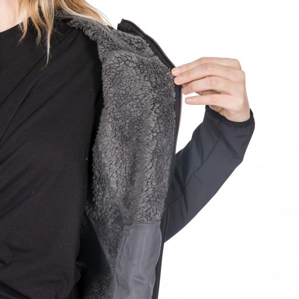 Trespass-Womens-Ladies-Kristen-Longer-Length-Hooded-Waterproof-Jacket-TP4195 thumbnail 8