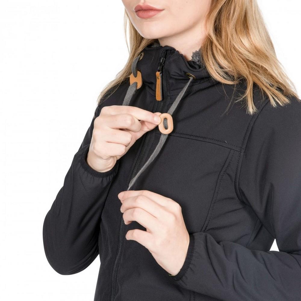 Trespass-Womens-Ladies-Kristen-Longer-Length-Hooded-Waterproof-Jacket-TP4195 thumbnail 9