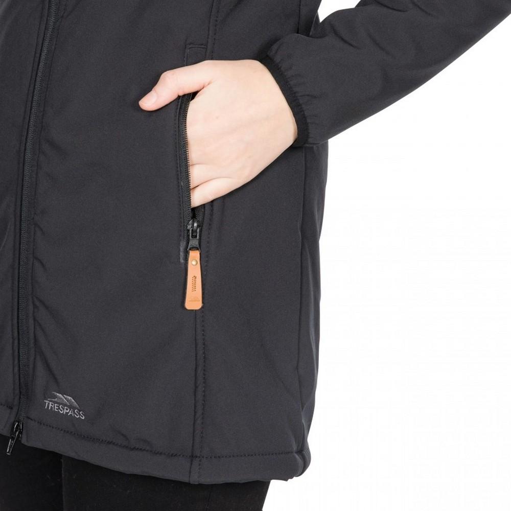 Trespass-Womens-Ladies-Kristen-Longer-Length-Hooded-Waterproof-Jacket-TP4195 thumbnail 10